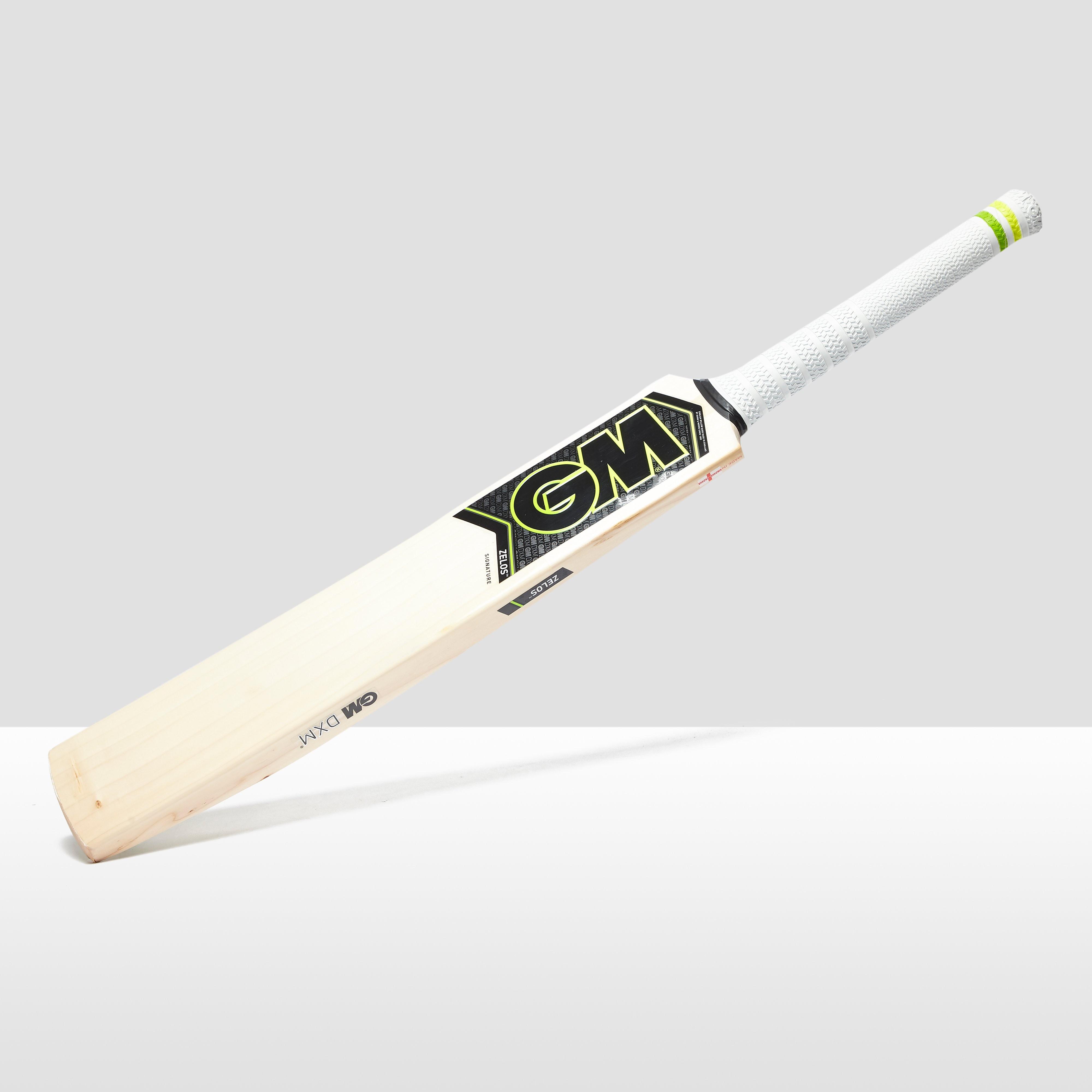 Gunn u0026 Moore Gunn & Moore  Zelos L555 Signature Cricket Bat - Brown/Yellow, Brown/Yellow