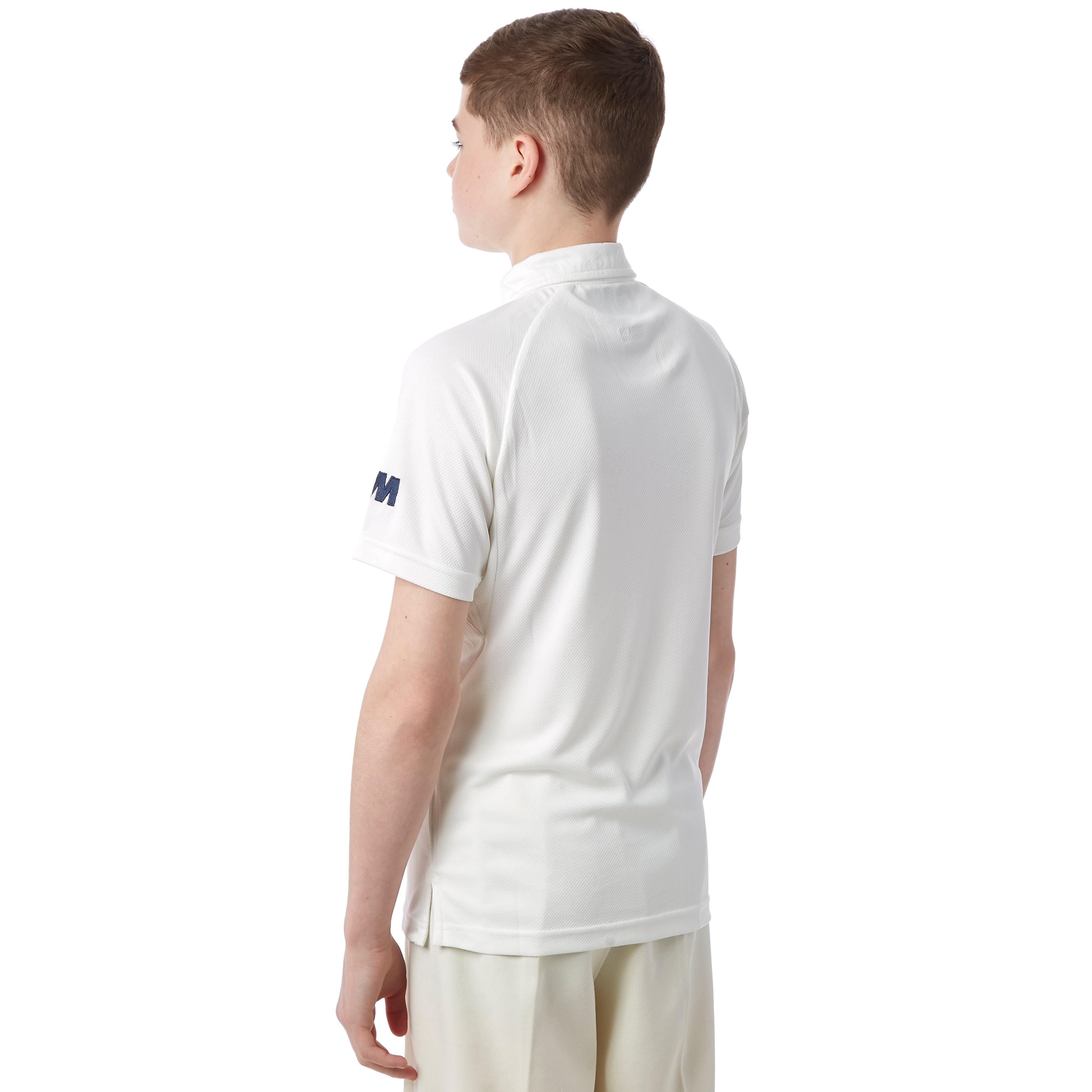 Gunn & Moore Premier Club Short Sleeve Junior Cricket Shirt