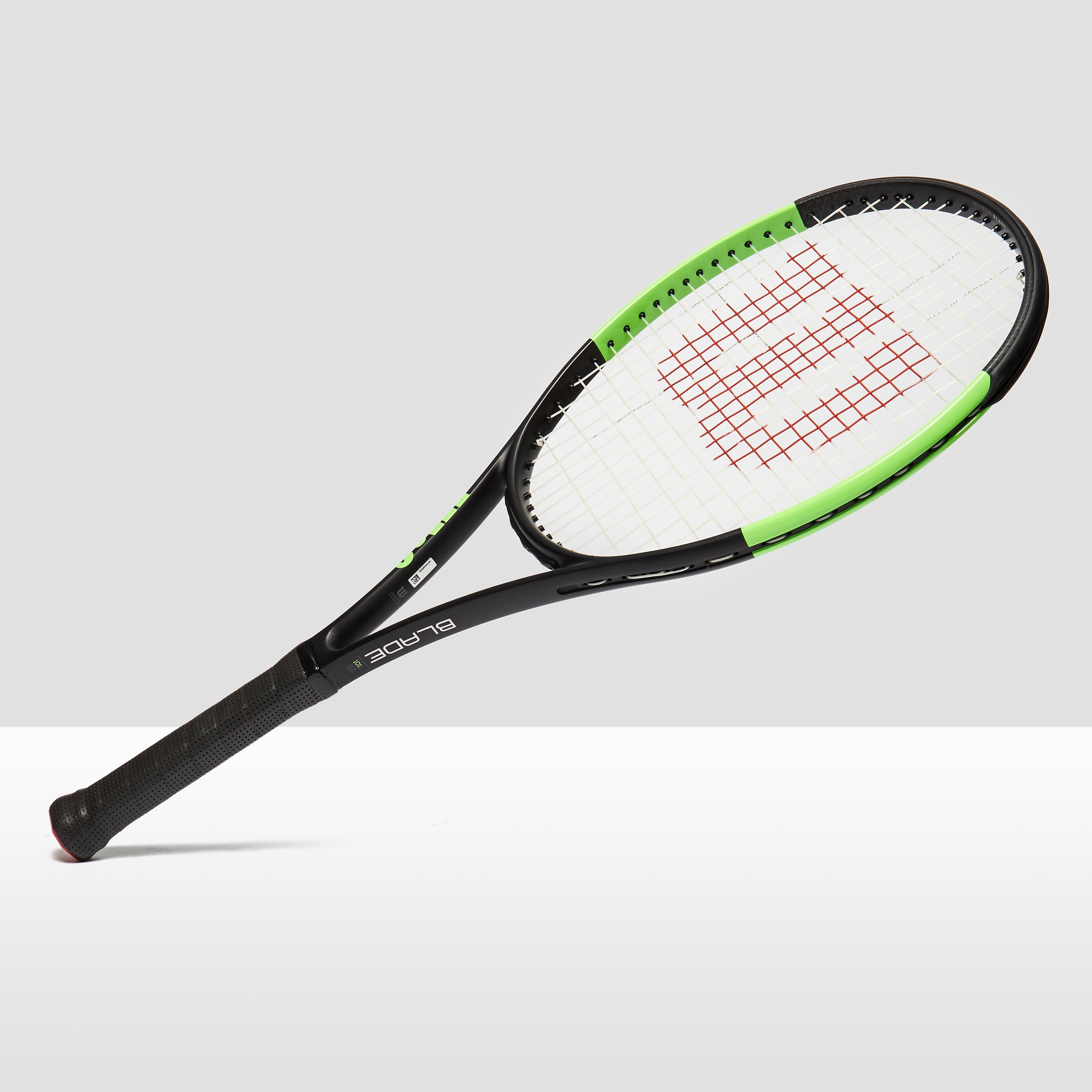 Womens Grey Wilson Blade 101L Tennis Racket