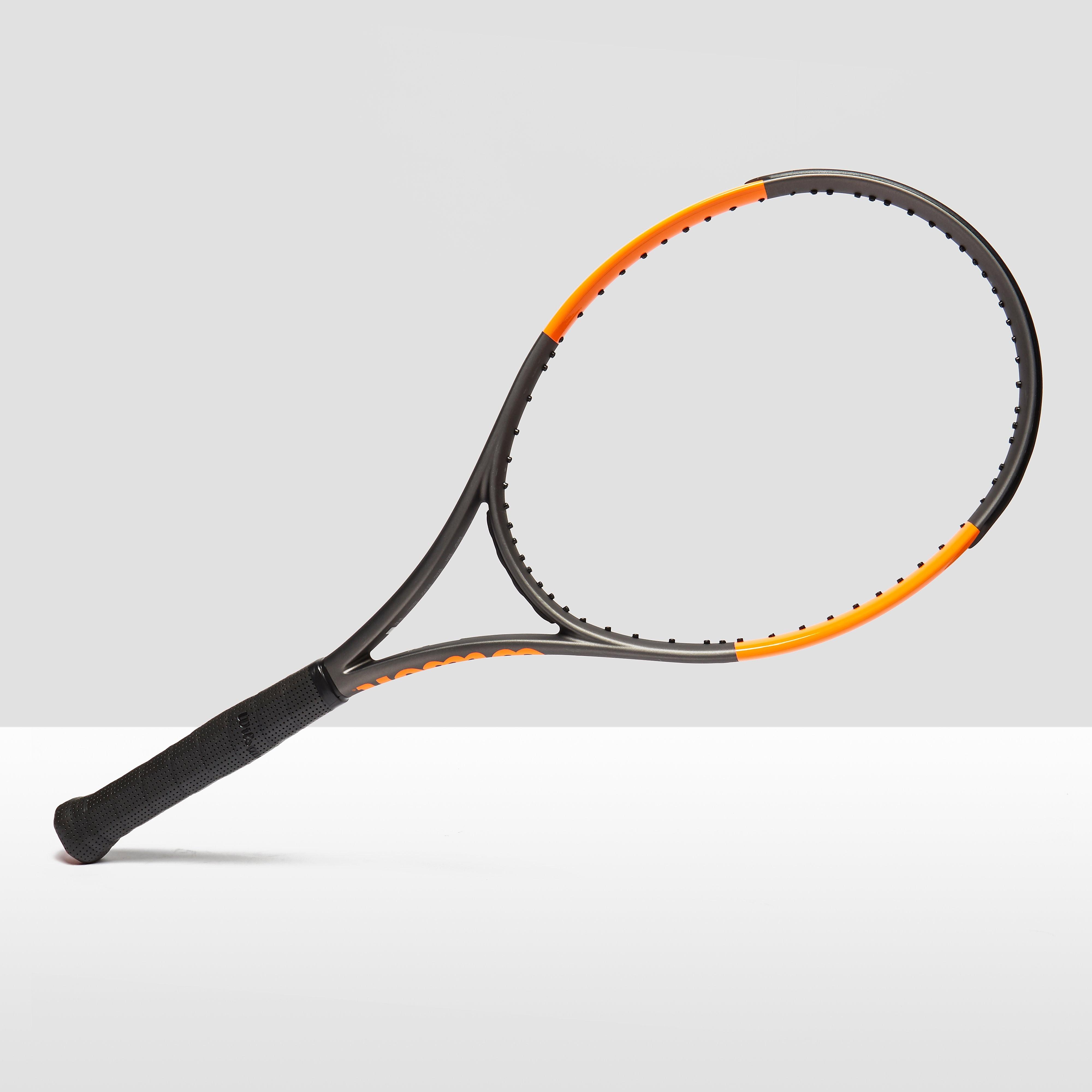 Womens Black Wilson Burn 100LS Unstrung Tennis Racket