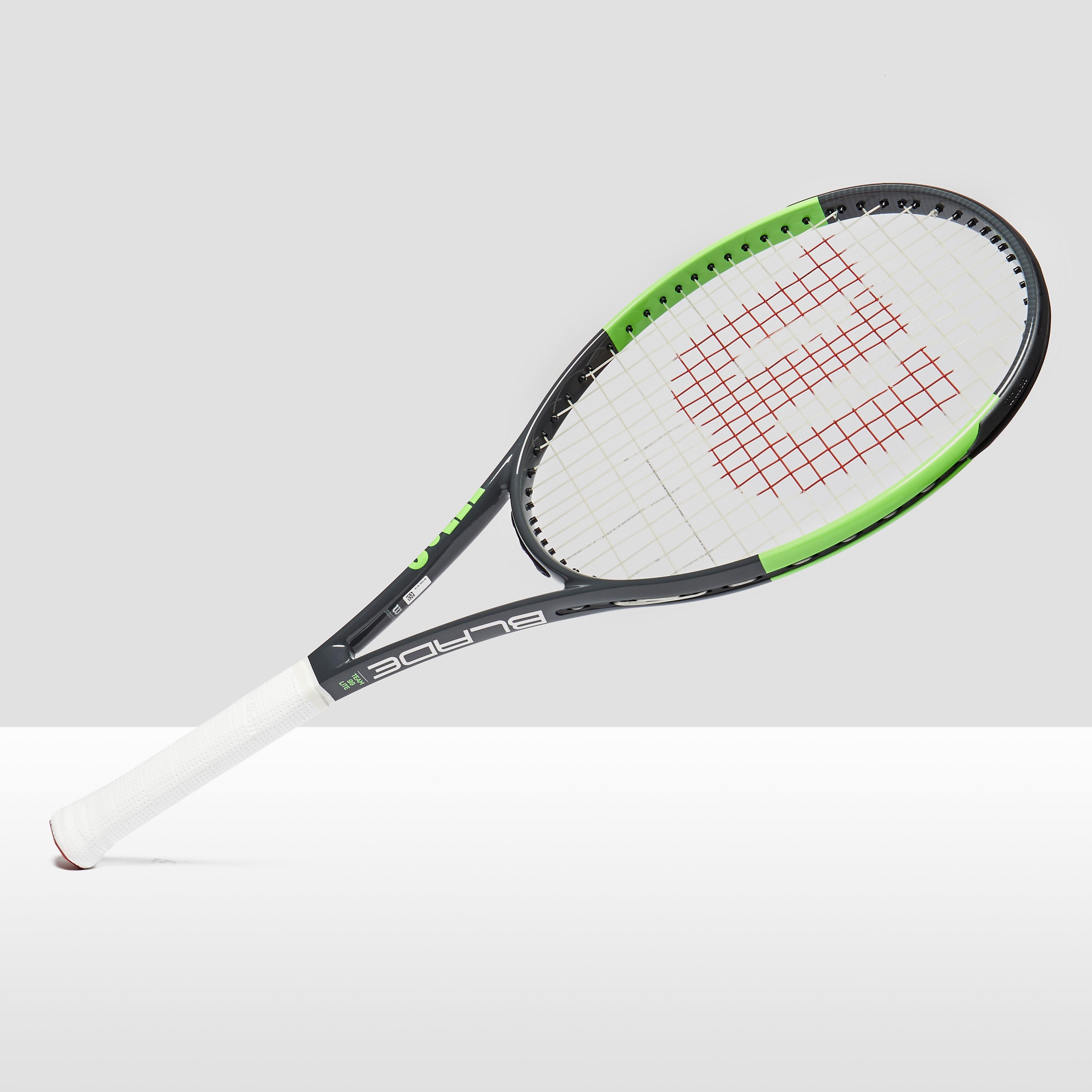 Womens Green Wilson Blade Team 99 Lite Tennis Racket