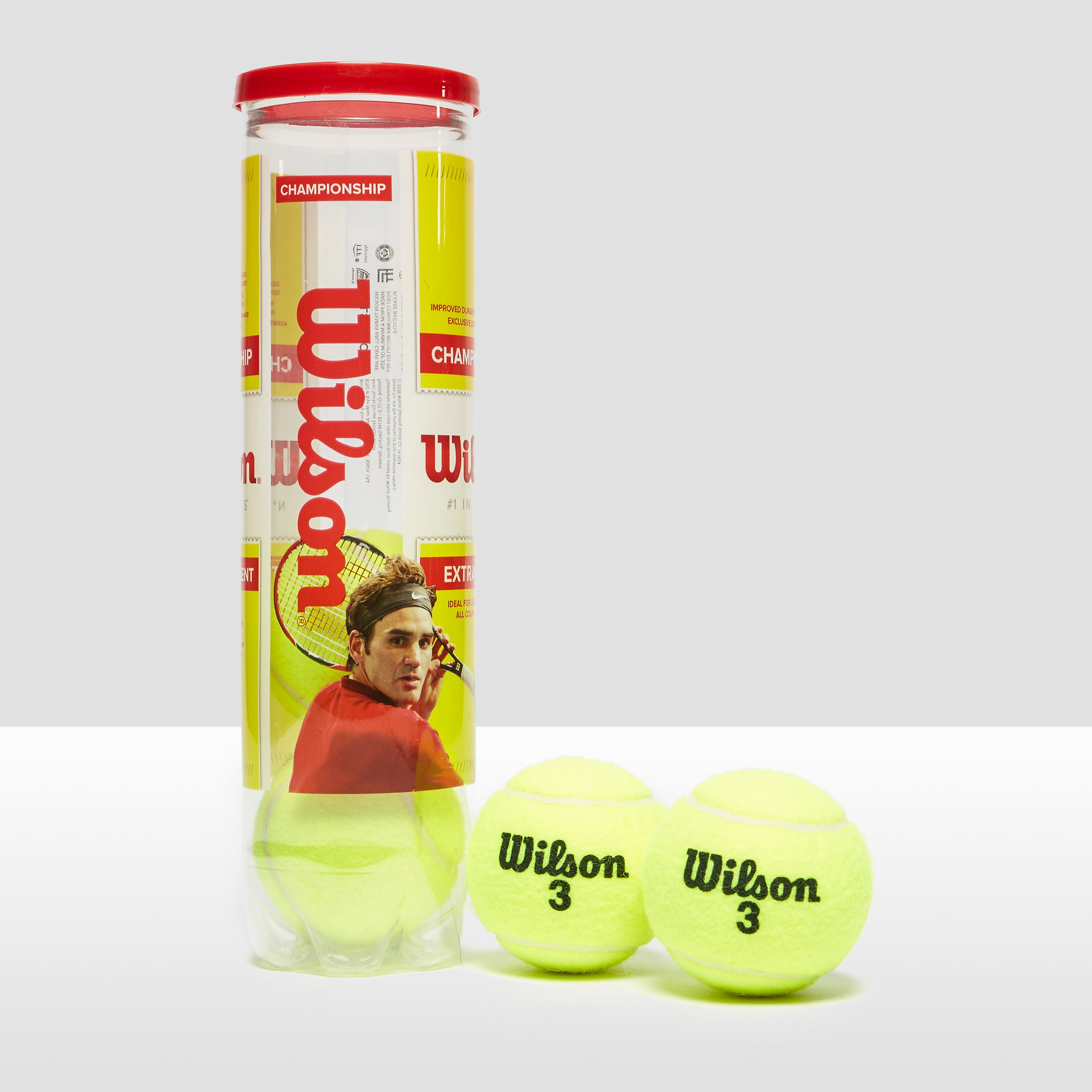 Wilson Championship XD Tennis 4-Ball Can Case