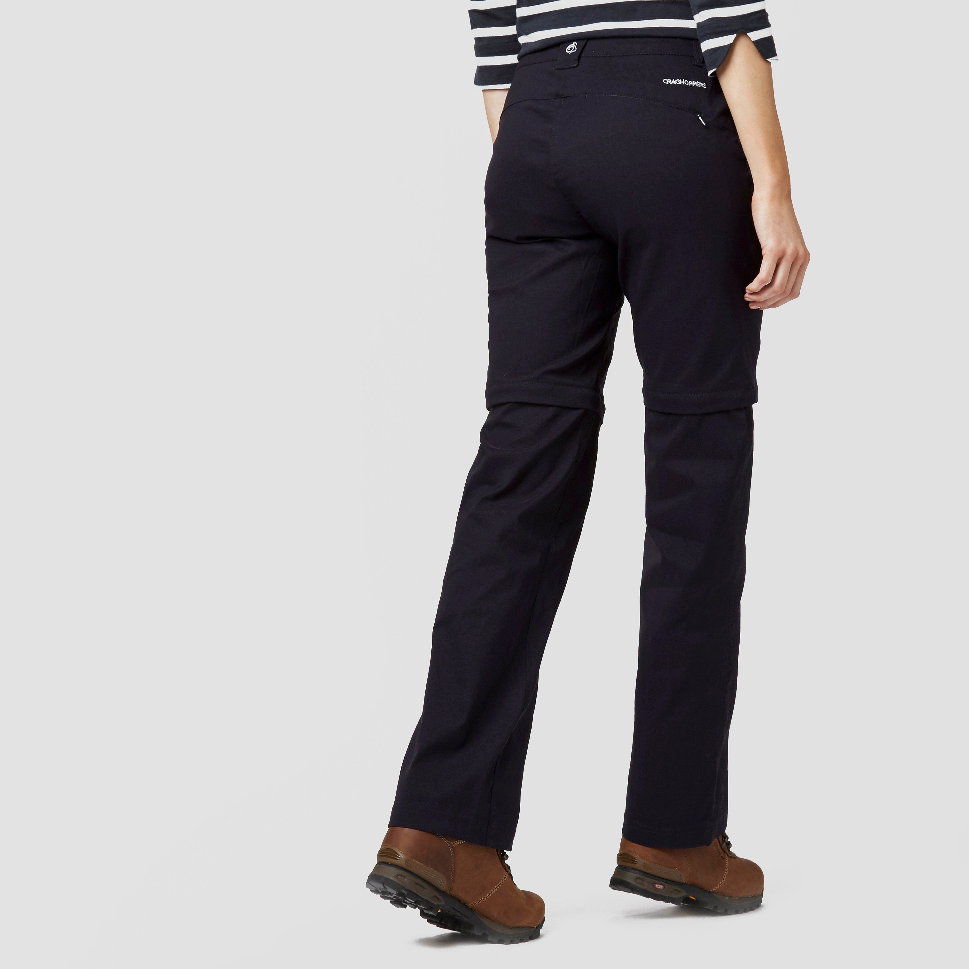Craghoppers Kiwi Pro Stretch Convertible Women's Trousers