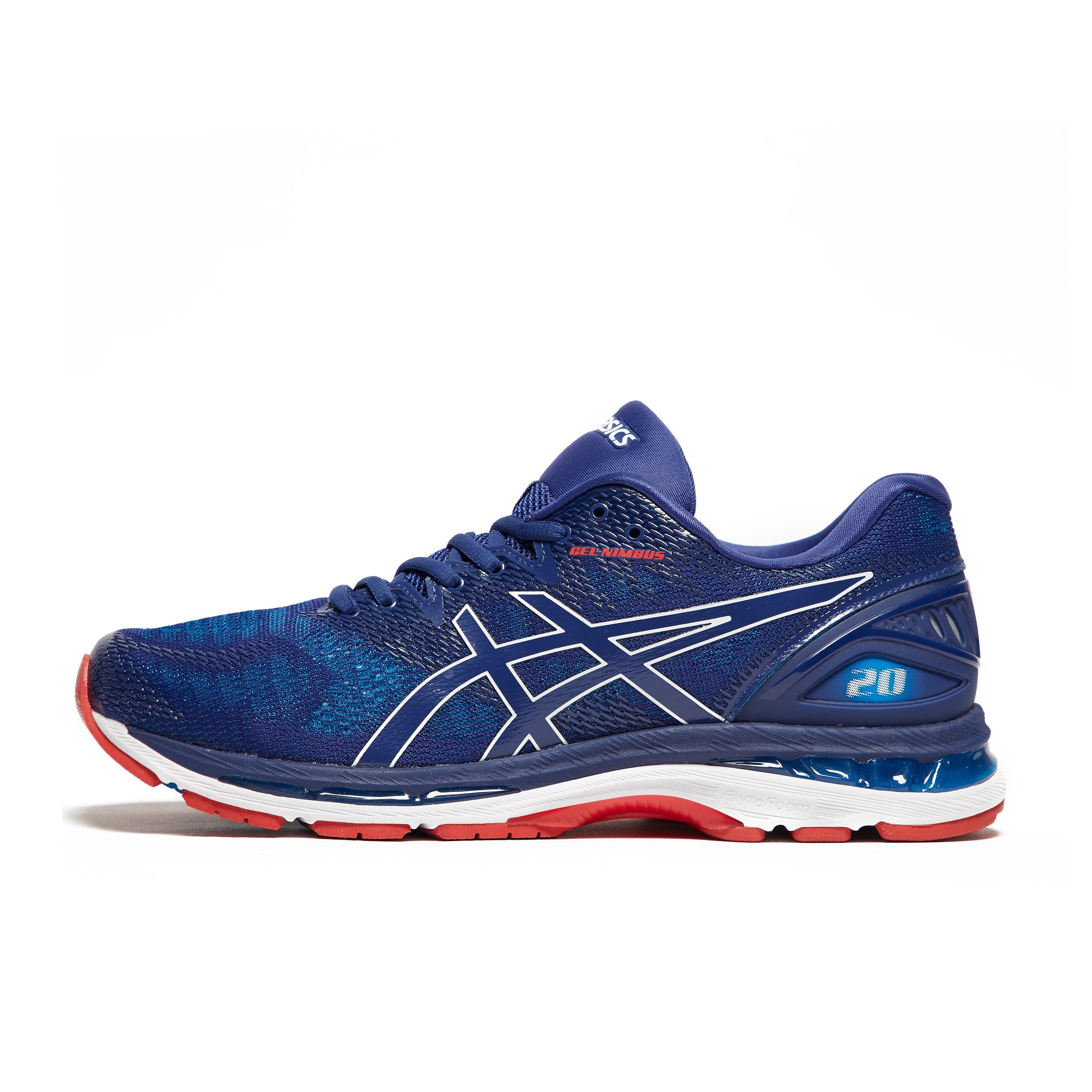 Mens Blue ASICS Gel-Nimbus 20 Running Shoes