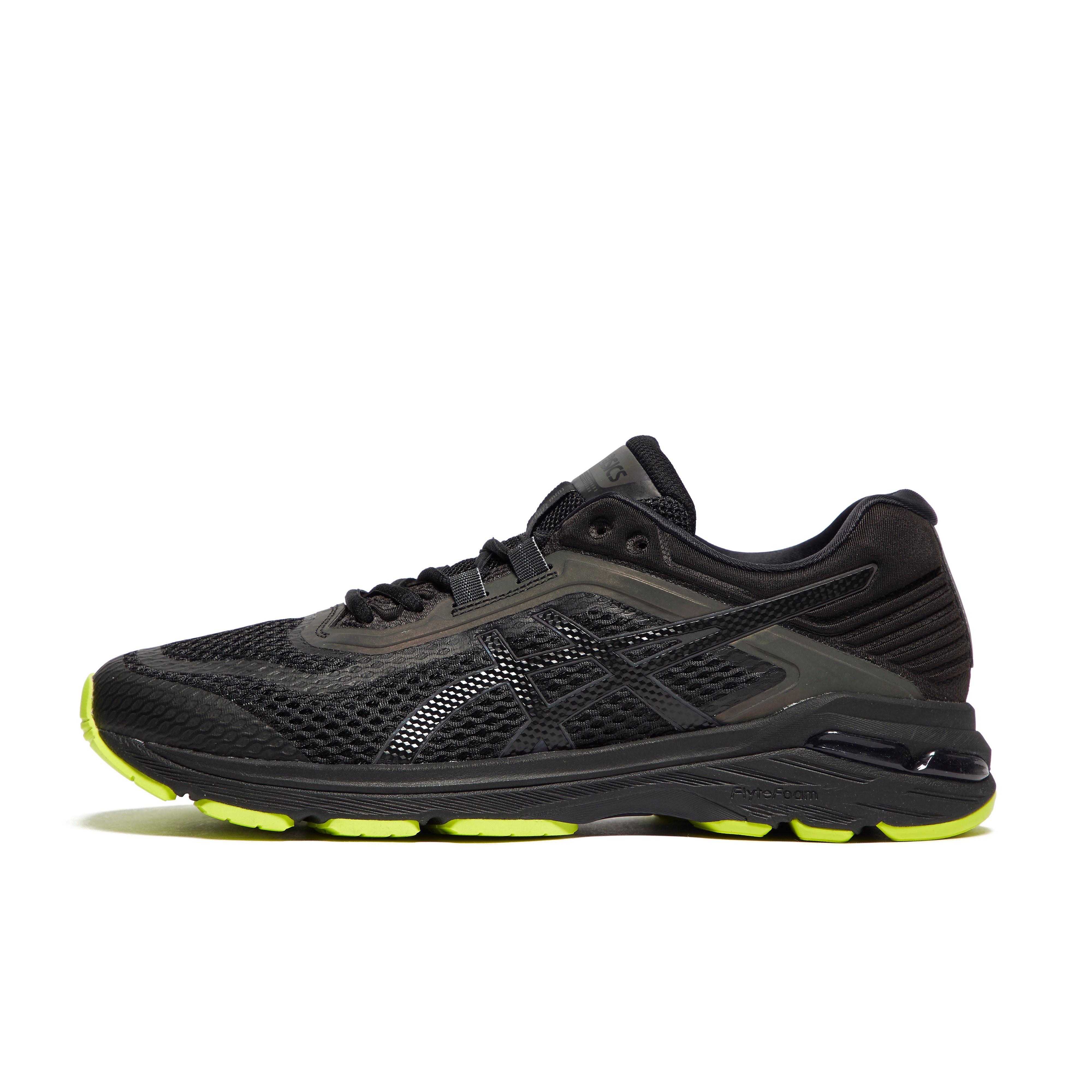 Mens Black ASICS GT-2000 6 Lite-Show Running Shoes