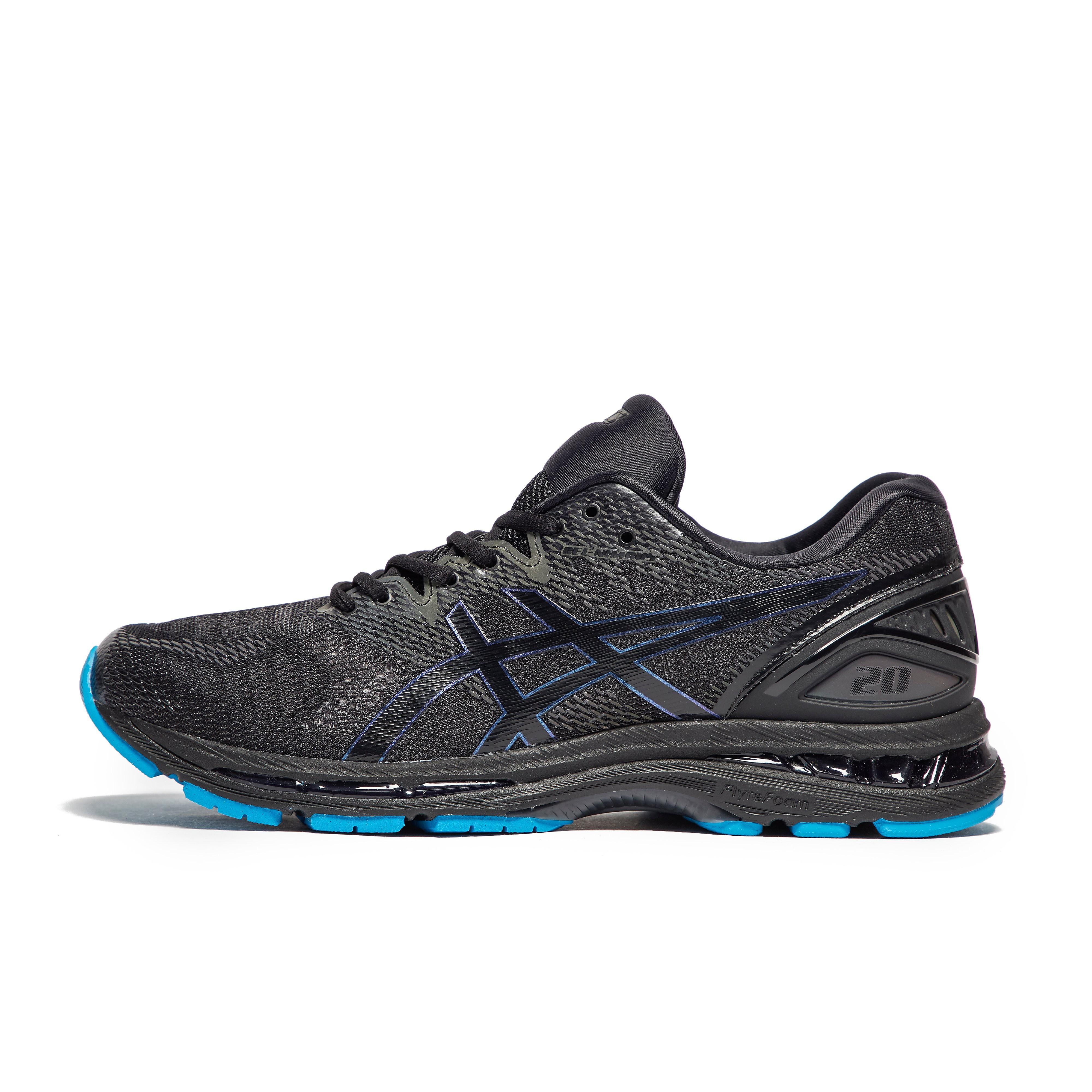 Mens Black ASICS Gel-Nimbus 20 Lite-Show Running Shoes