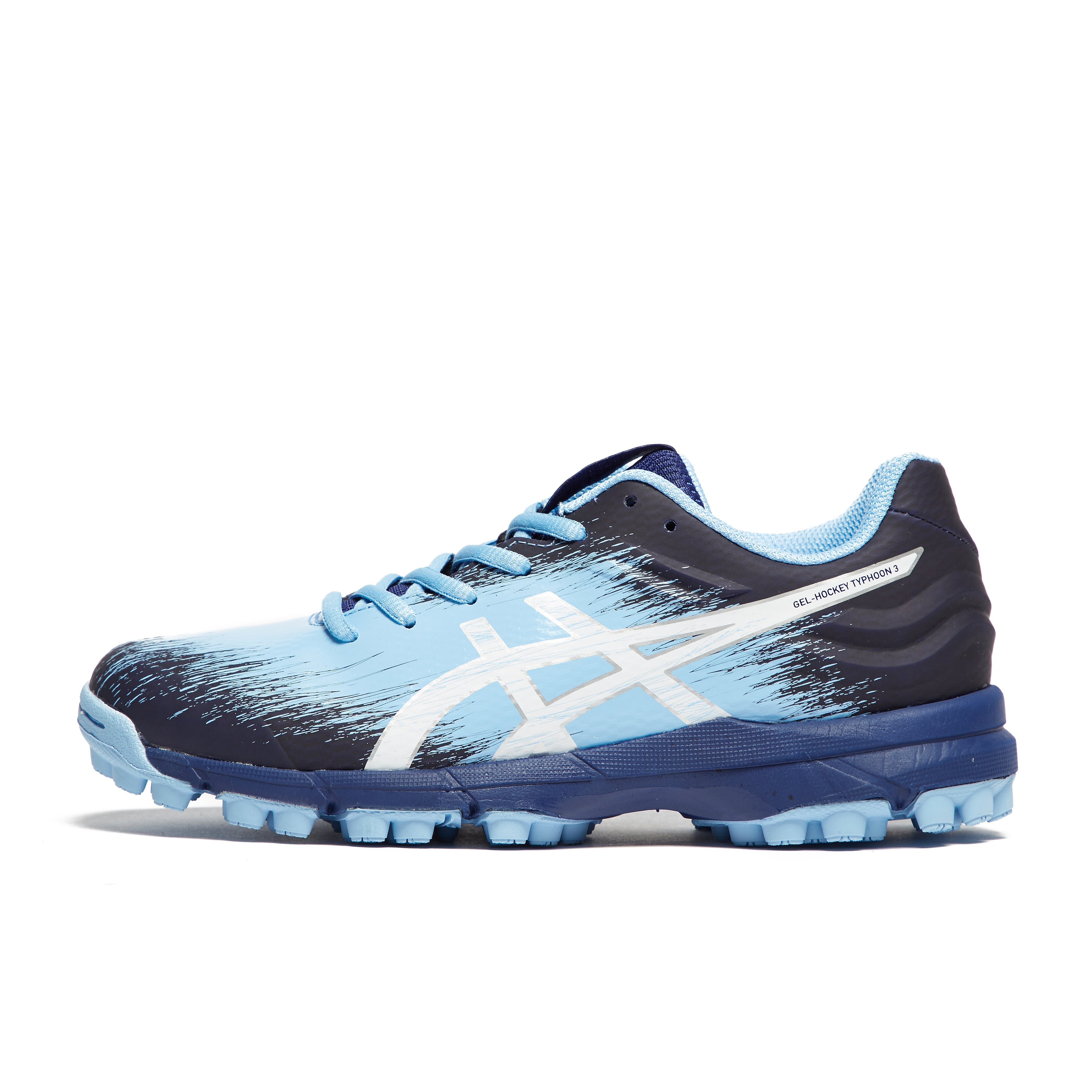 Womens Blue ASICS GEL-Hockey Typhoon 3 Shoes