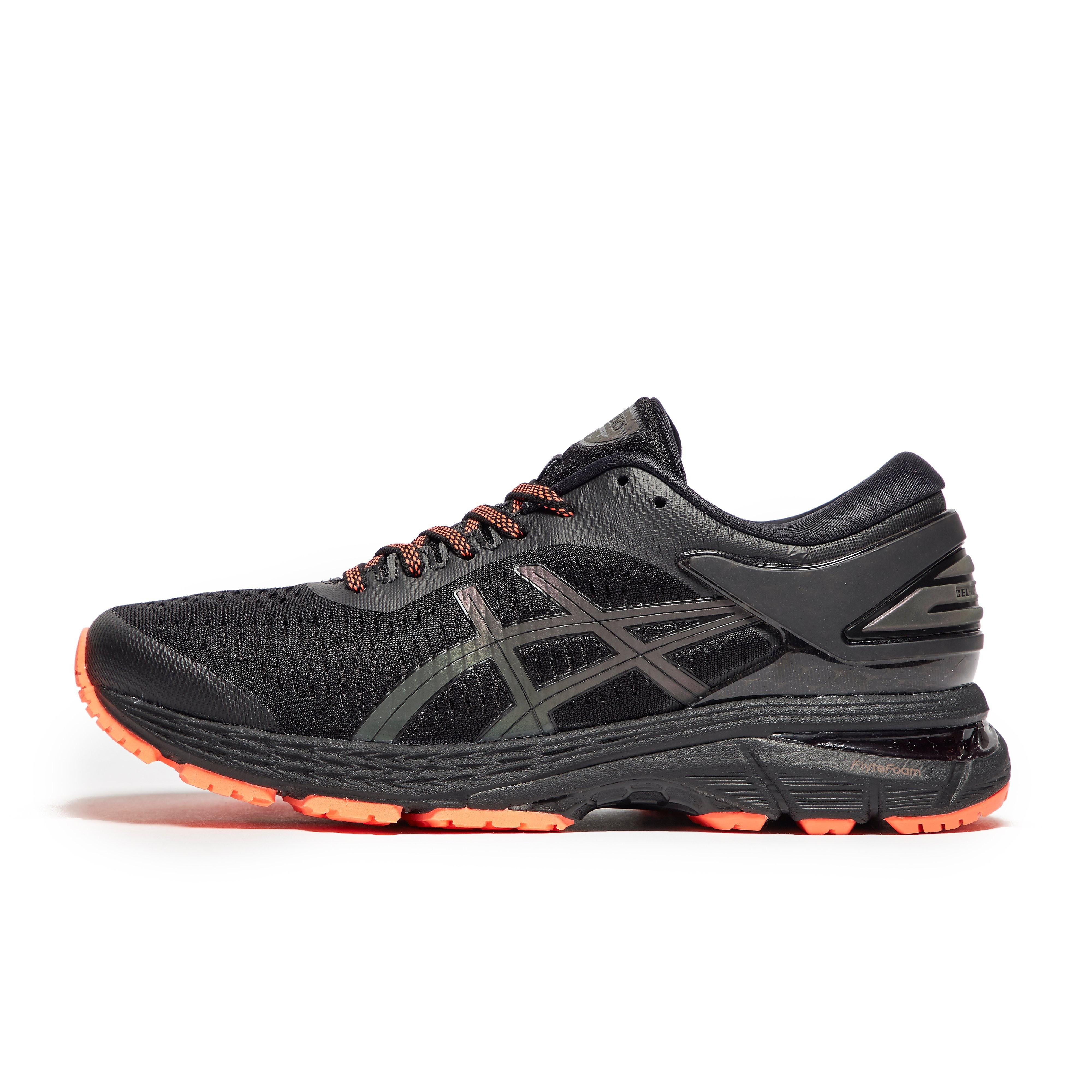 Womens Black ASICS Gel-Kayano 25 Lite-Show Running Shoes