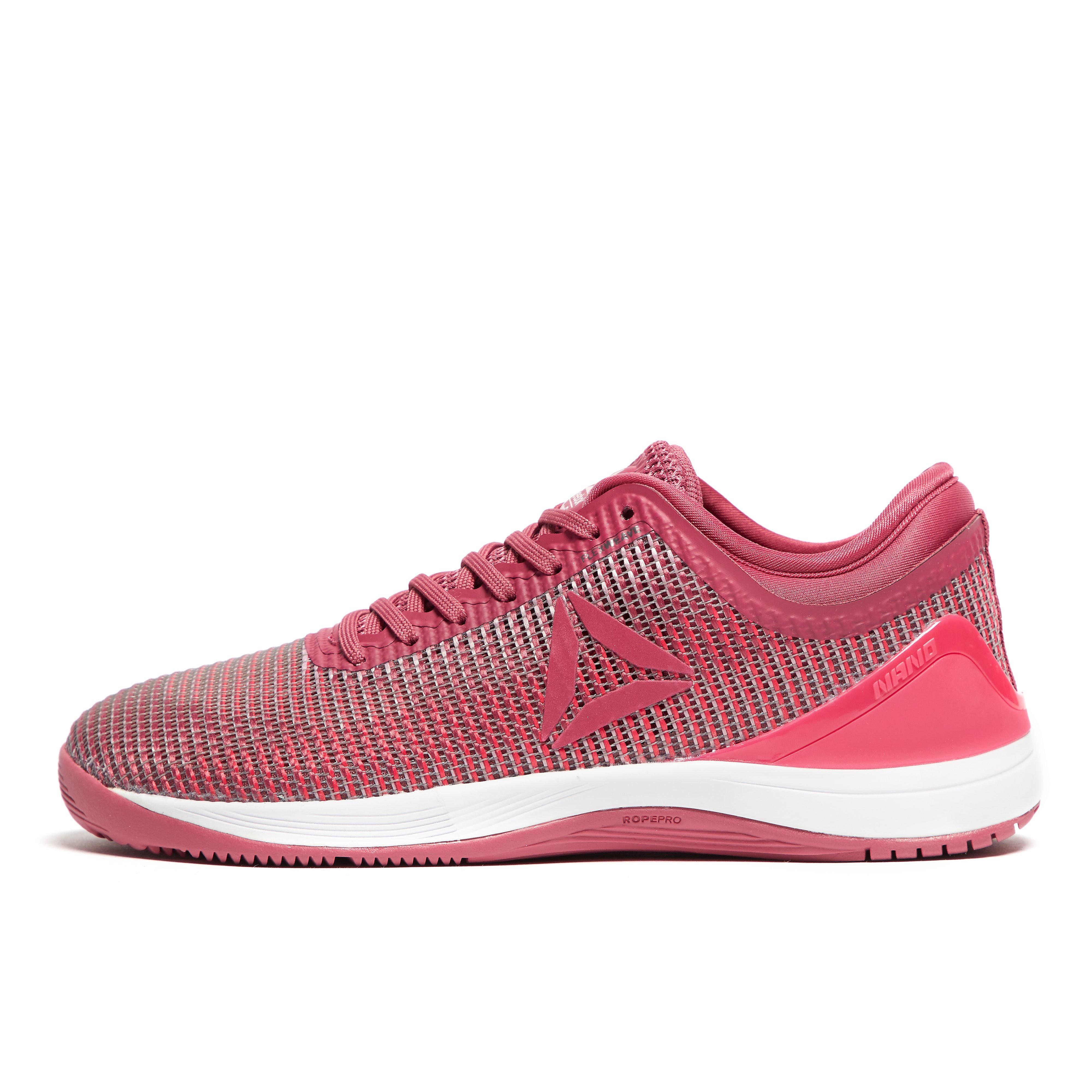 Womens Pink Reebok Crossfit Nano 8.0 Training Shoes