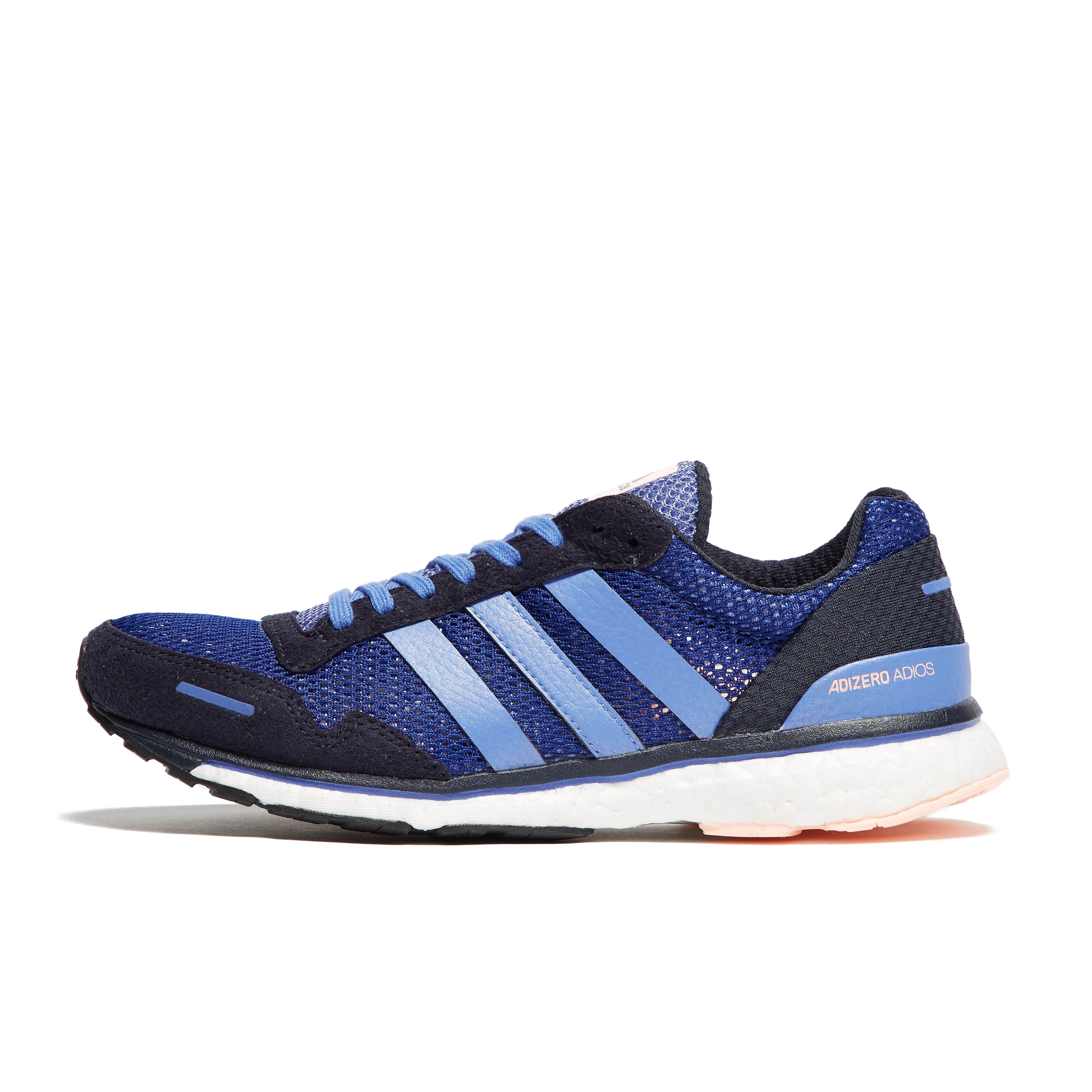 Womens Navy blue adidas Adizero Adios 3 Running Shoes