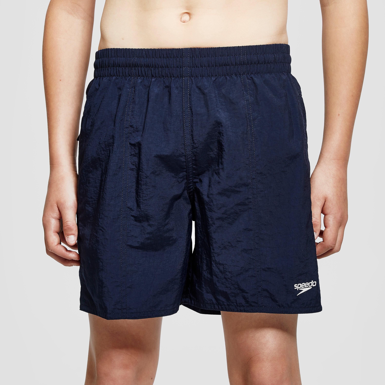 "Speedo Solid Leisure 15"" Junior Swimming Shorts"