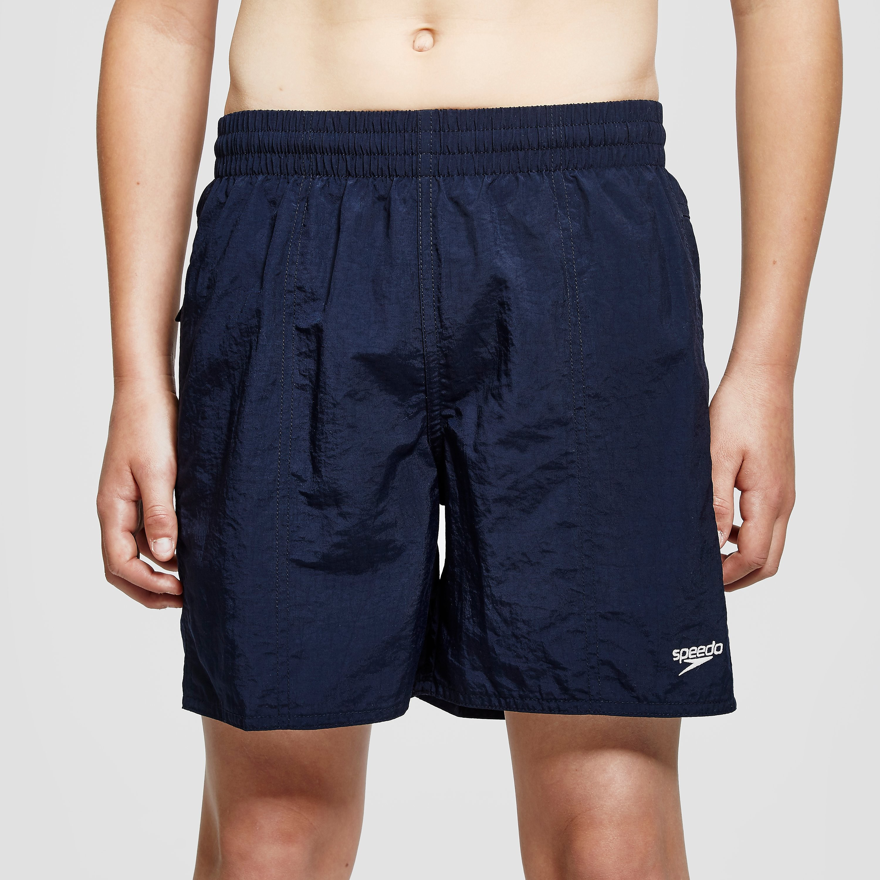 "Speedo Solid Leisure 15"" Junior Swimming Shorts"