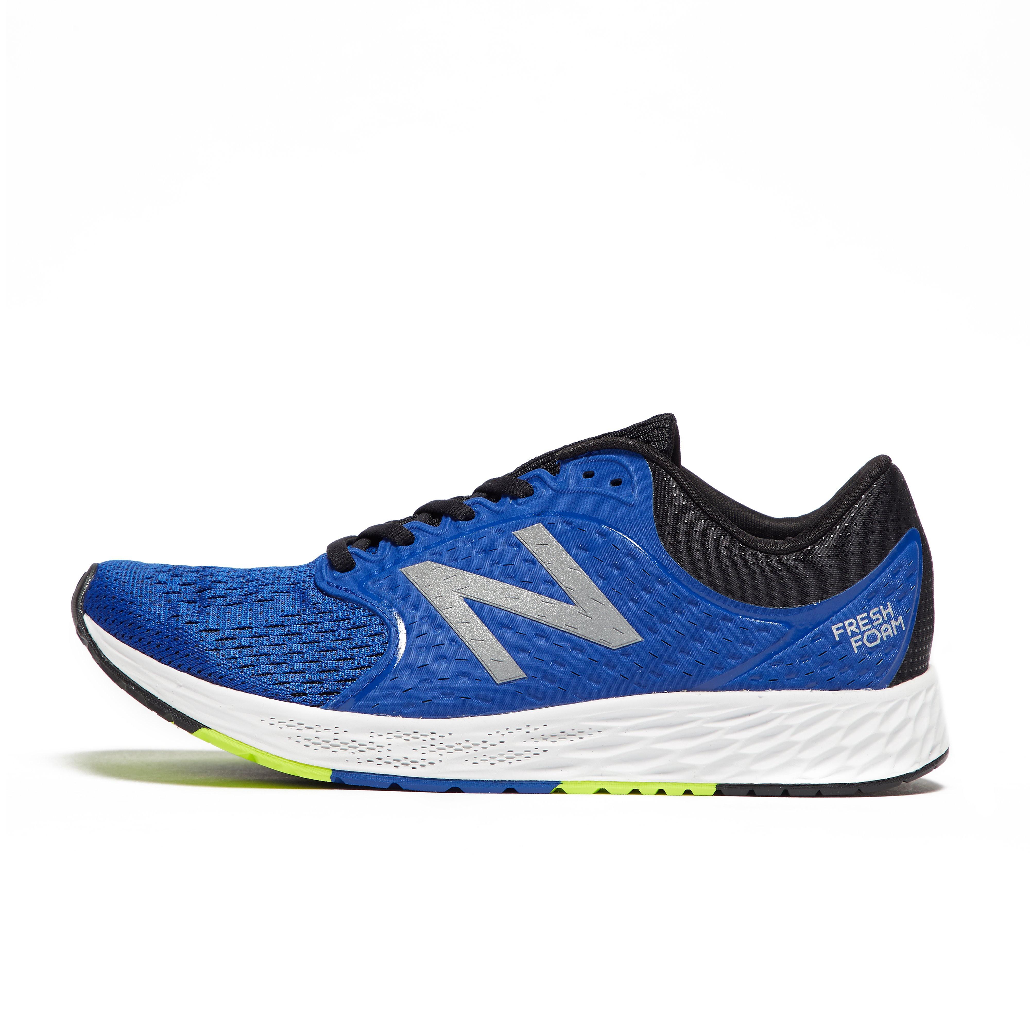 Mens Blue New Balance Fresh Foam Zante V4 Running Shoes