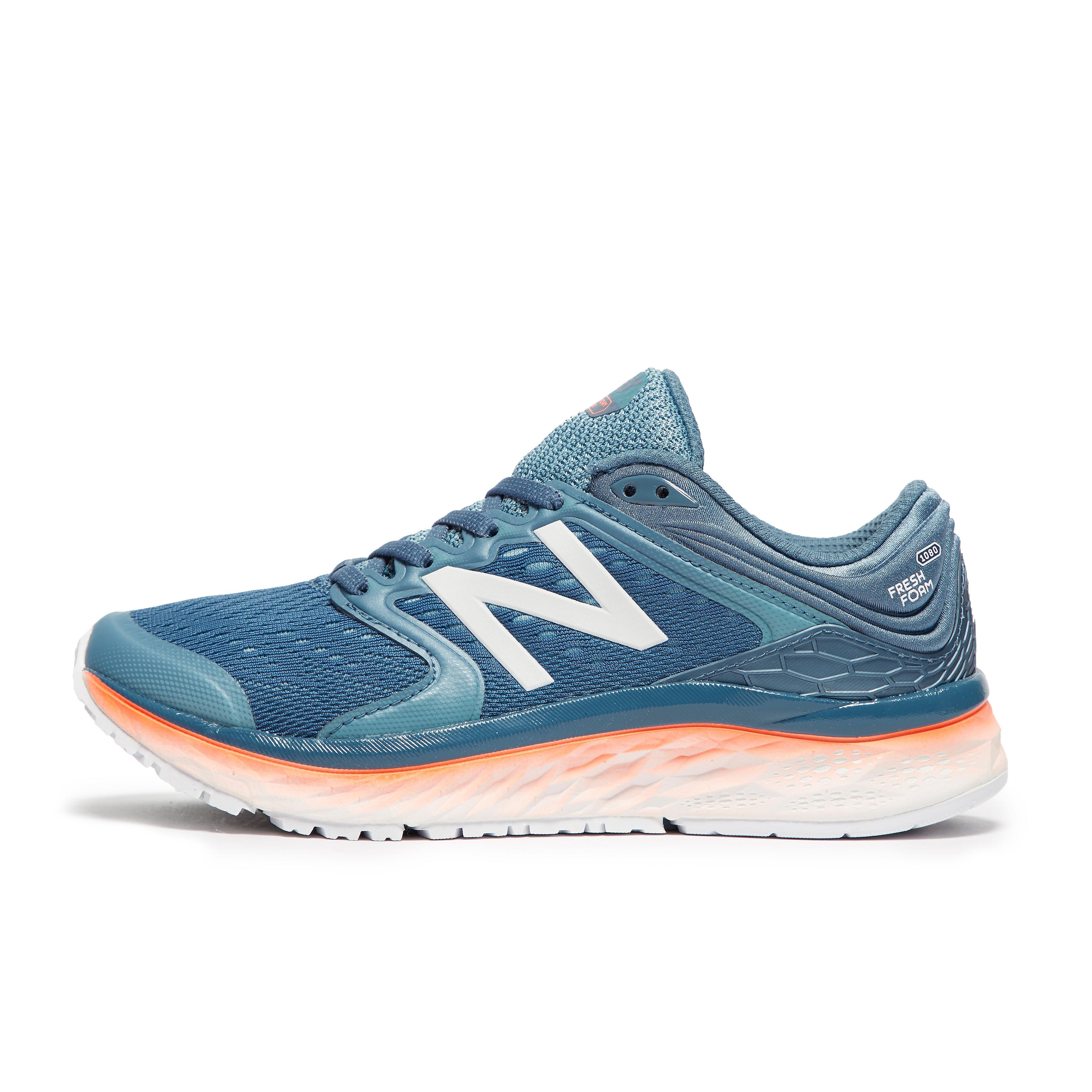 Womens Blue New Balance Fresh Foam 1080v8 Running Shoes