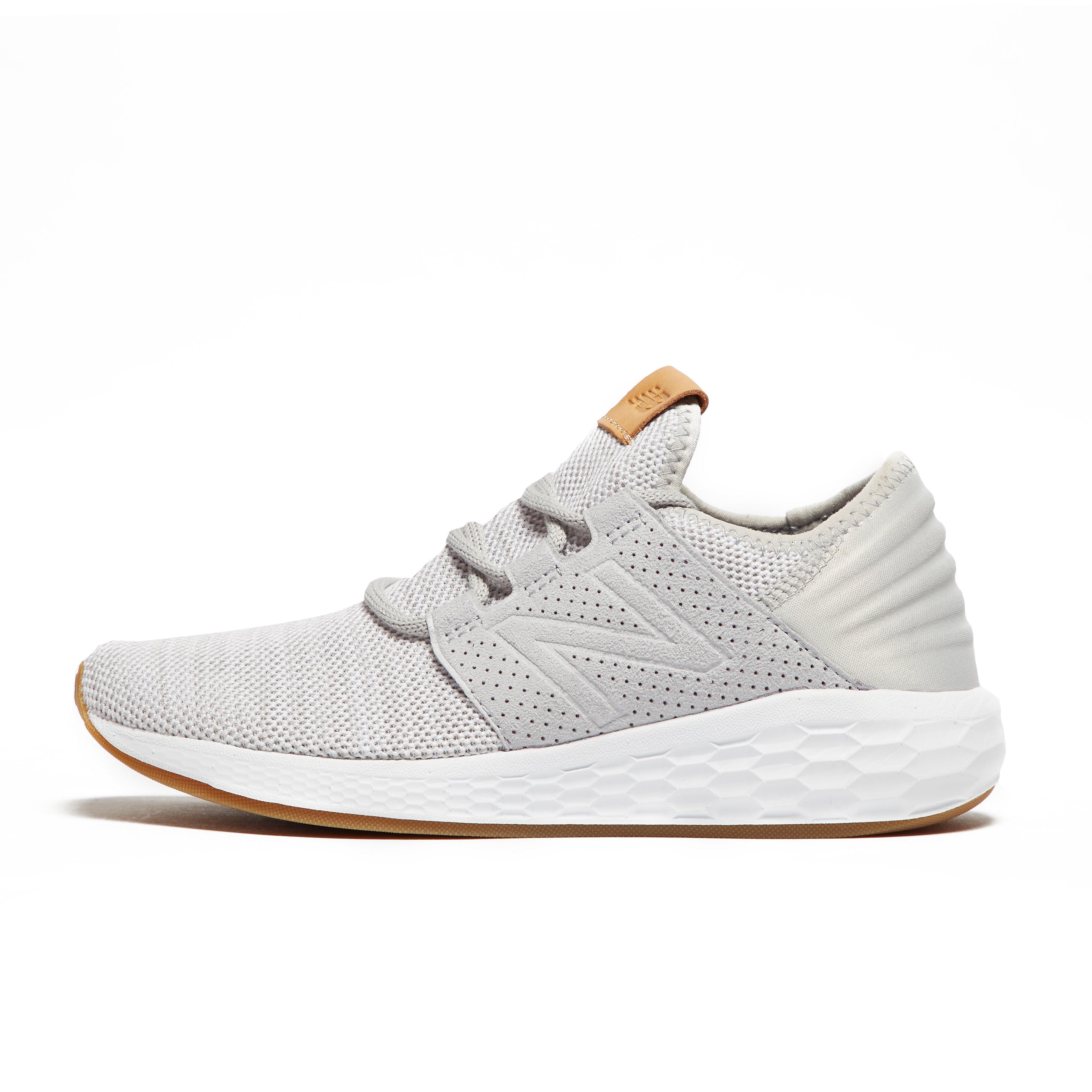 Womens Grey New Balance Fresh Foam Cruz v2 Knit Training Shoes