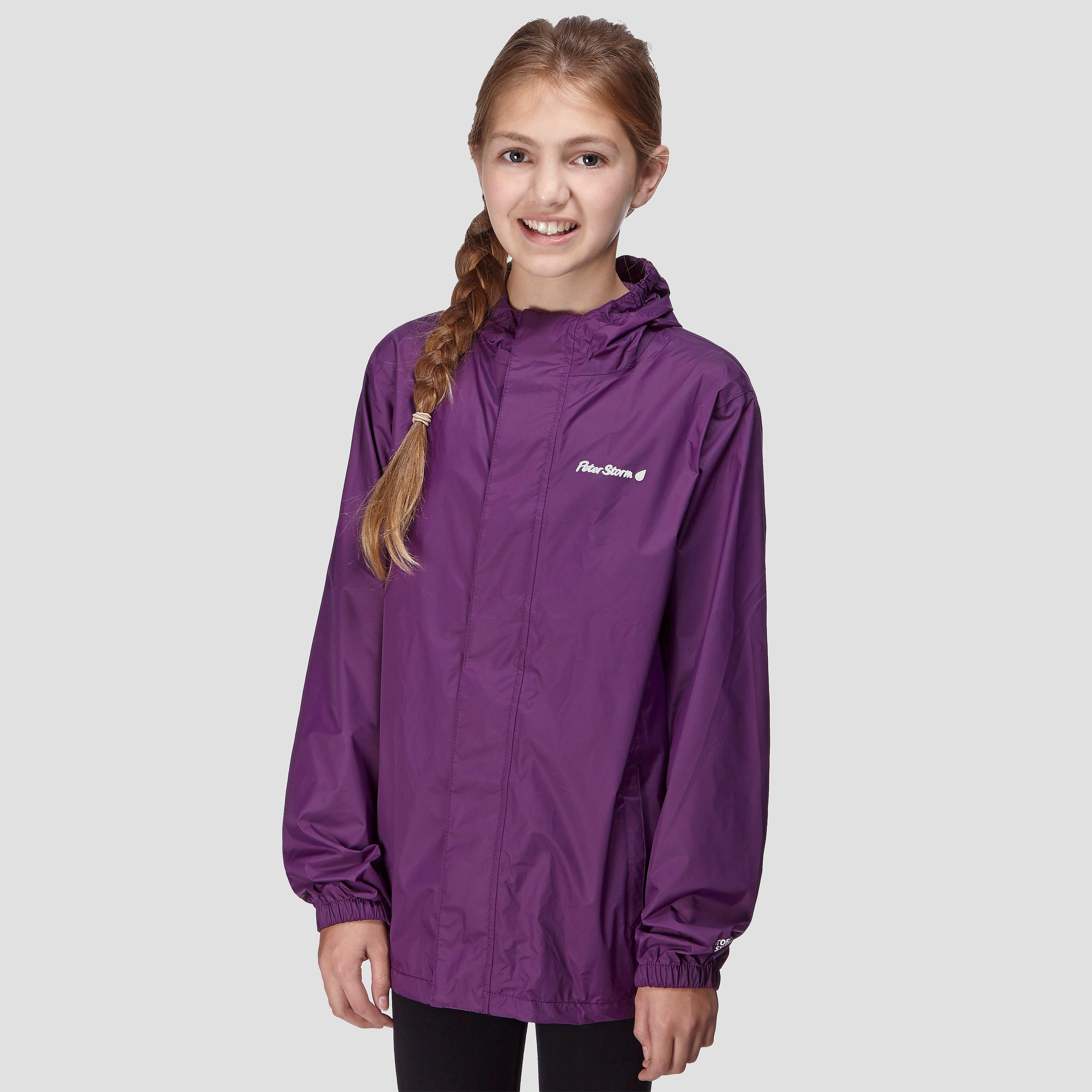 Peter Storm Girls' Packable Waterproof Jacket