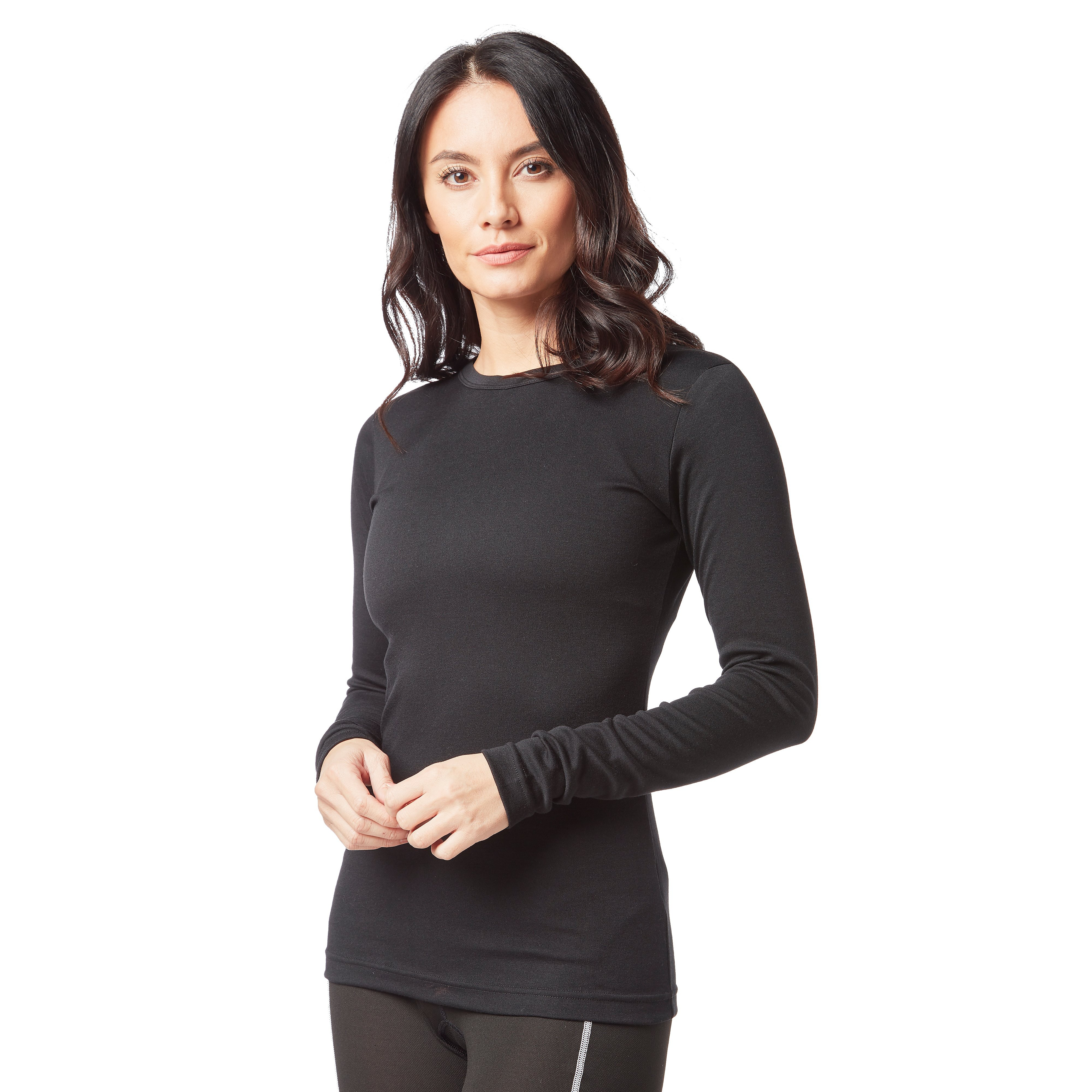 PETER STORM Women's Long Sleeve Thermal Crew Baselayer Top