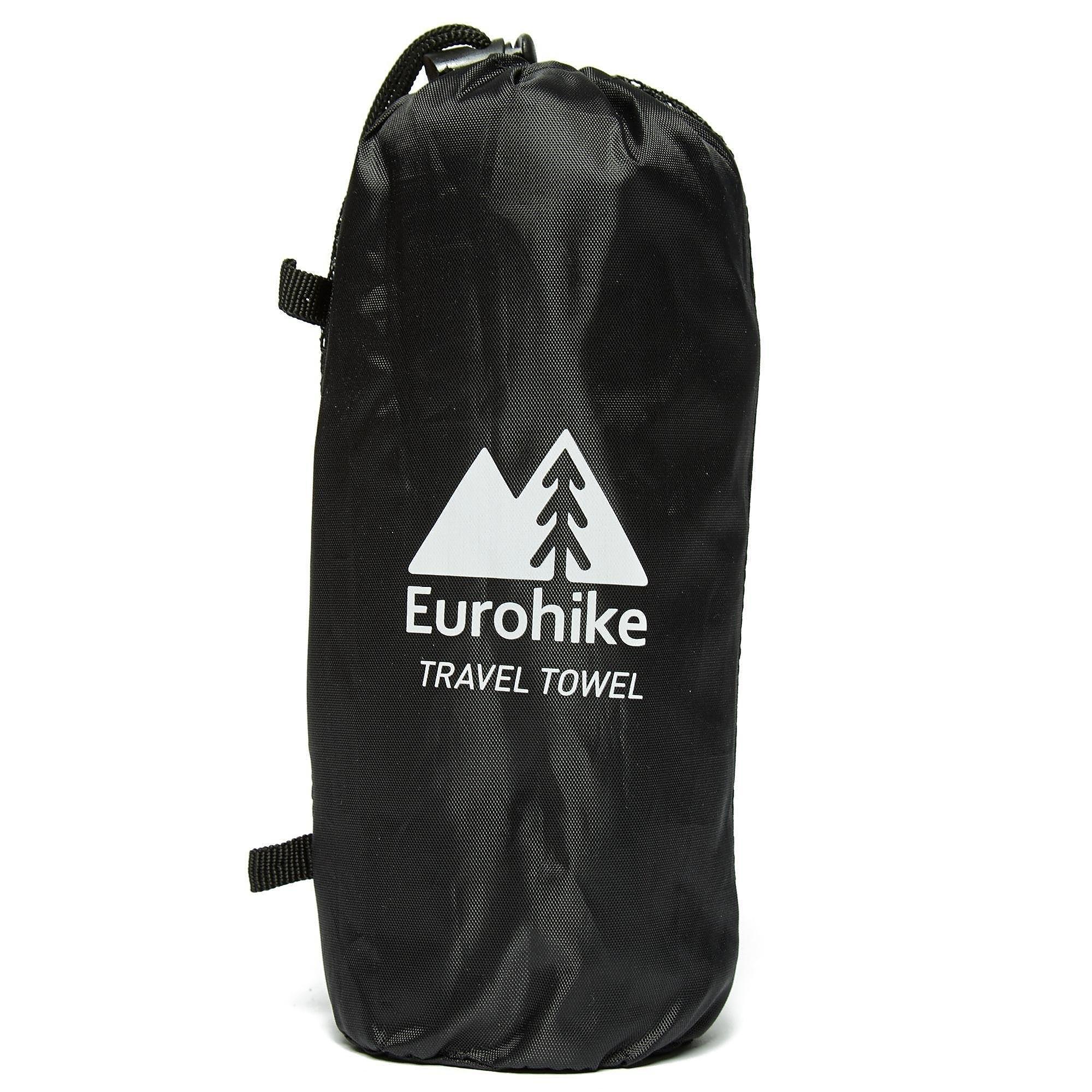 EUROHIKE Large Suede Microfibre Travel Towel