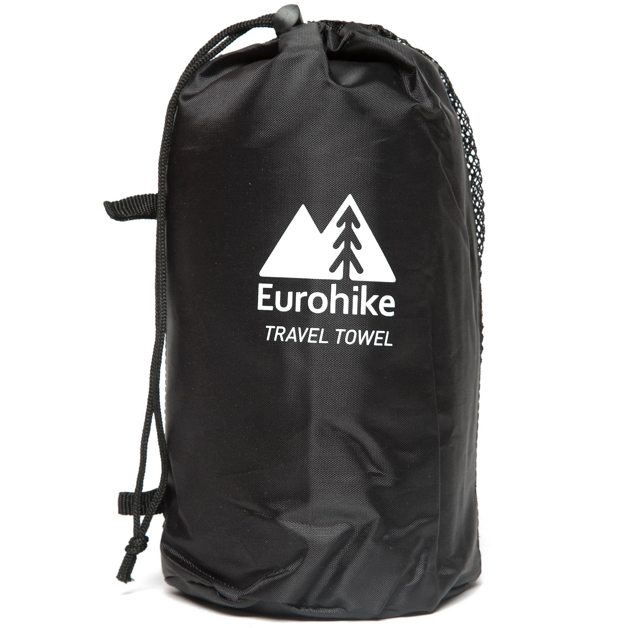 EUROHIKE Terry Microfibre Travel Towel - Small