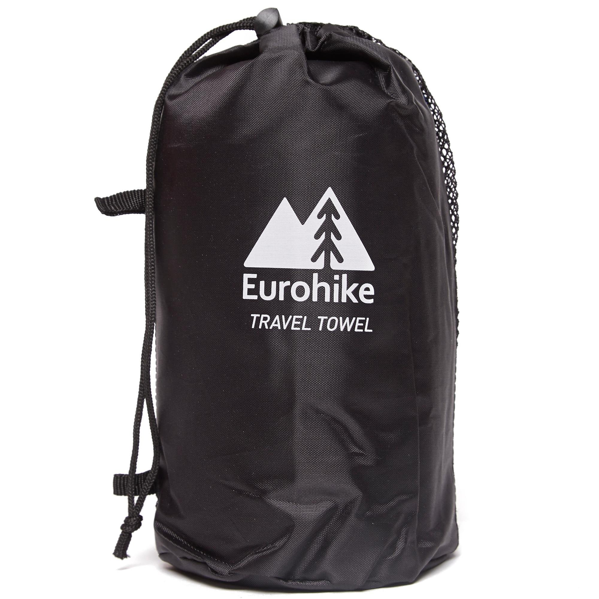 EUROHIKE Terry Microfibre Travel Towel - Large