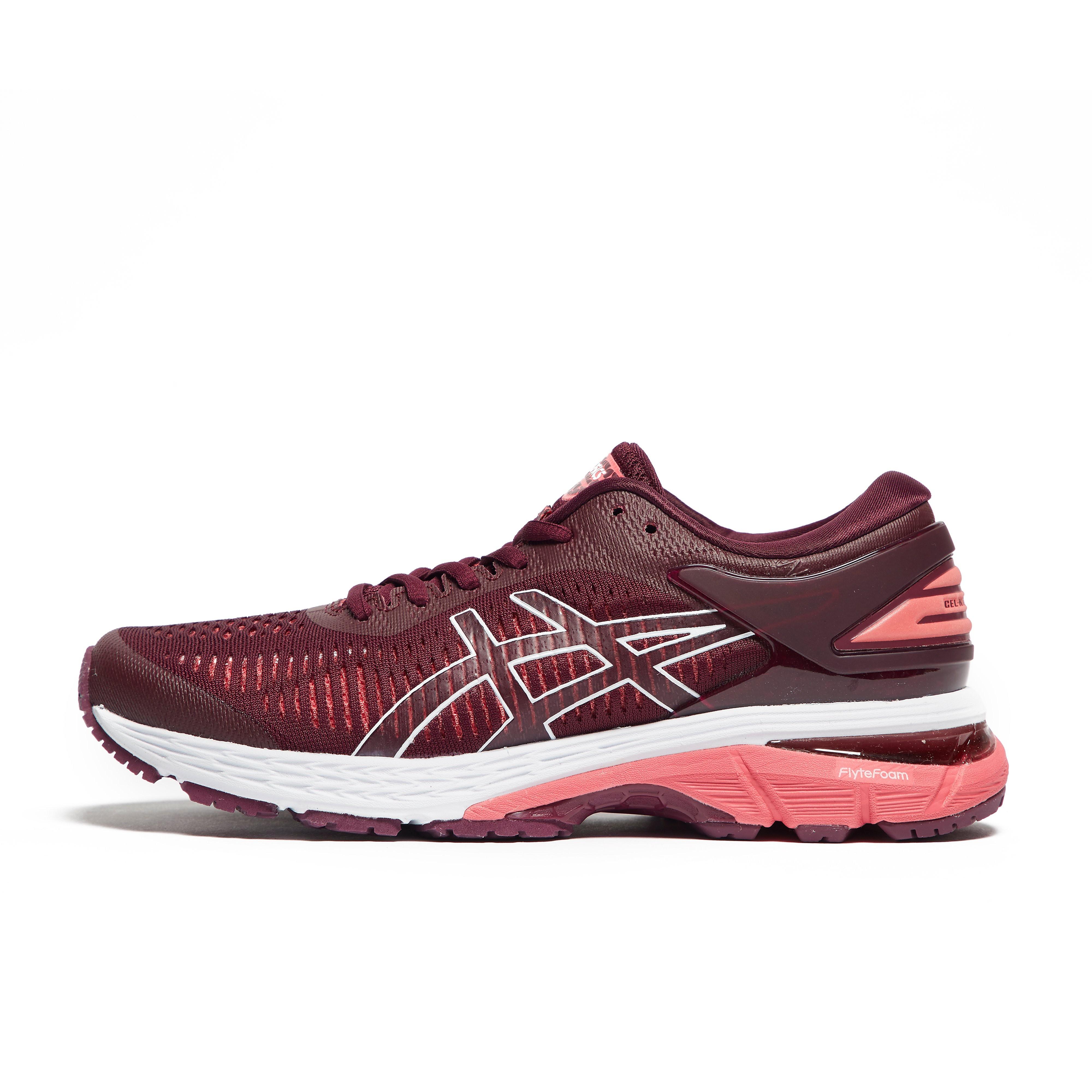 Womens Pink ASICS Gel-Kayano 25 Running Shoes