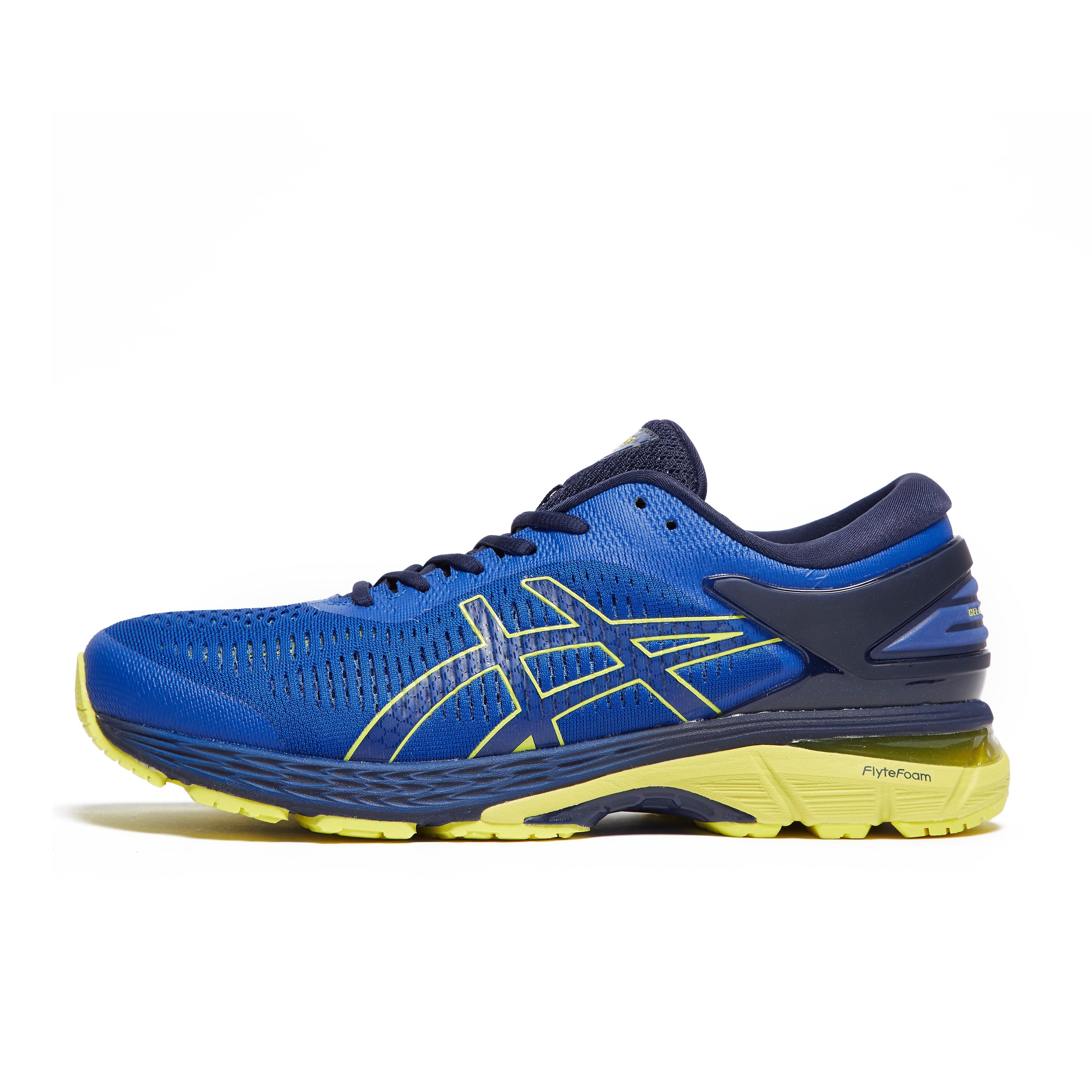 Mens Blue ASICS Gel-Kayano 25 Running Shoes