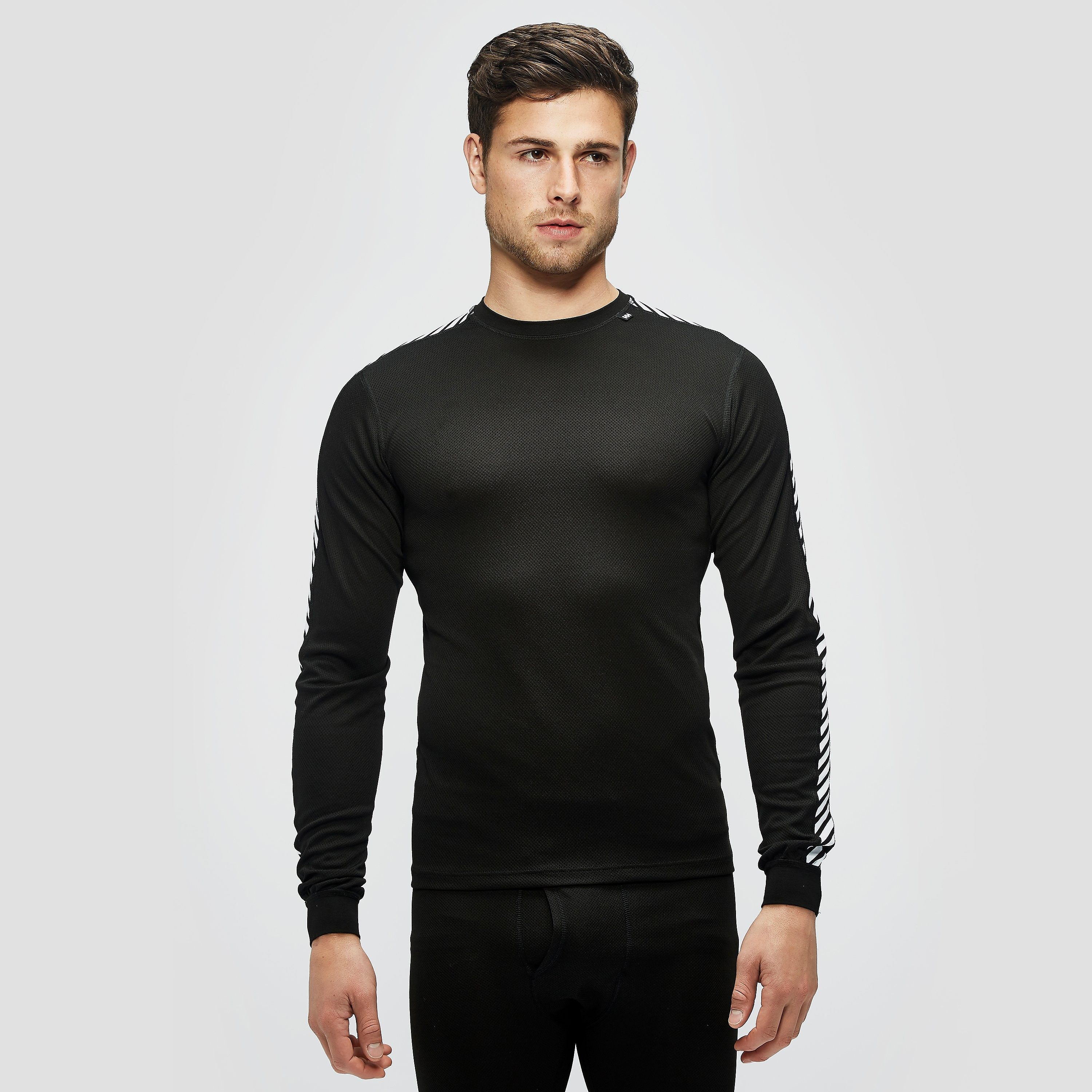 HELLY HANSEN Men's HHDry Stripe Crew Baselayer