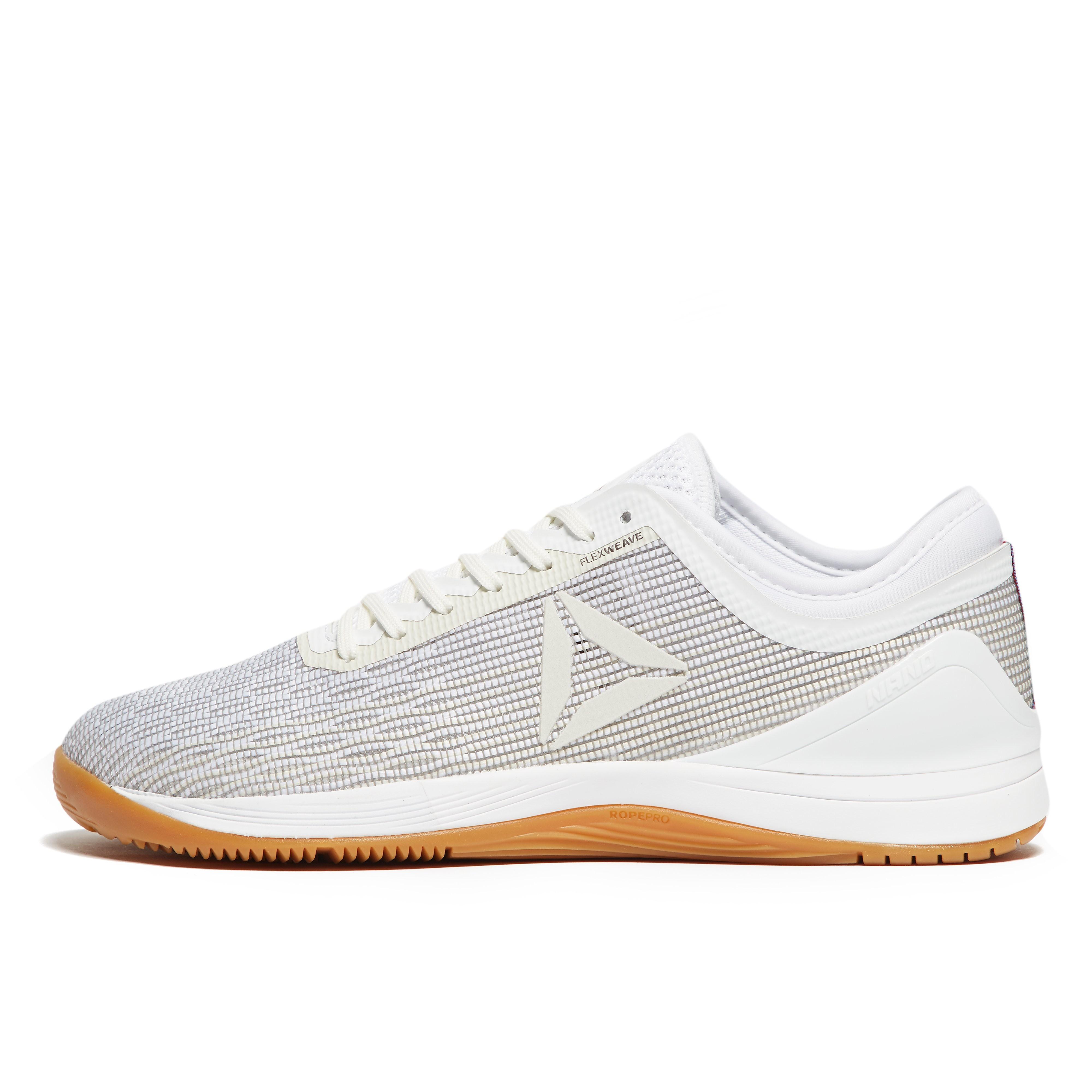 Mens White Reebok Crossfit Nano 8.0 Training Shoes