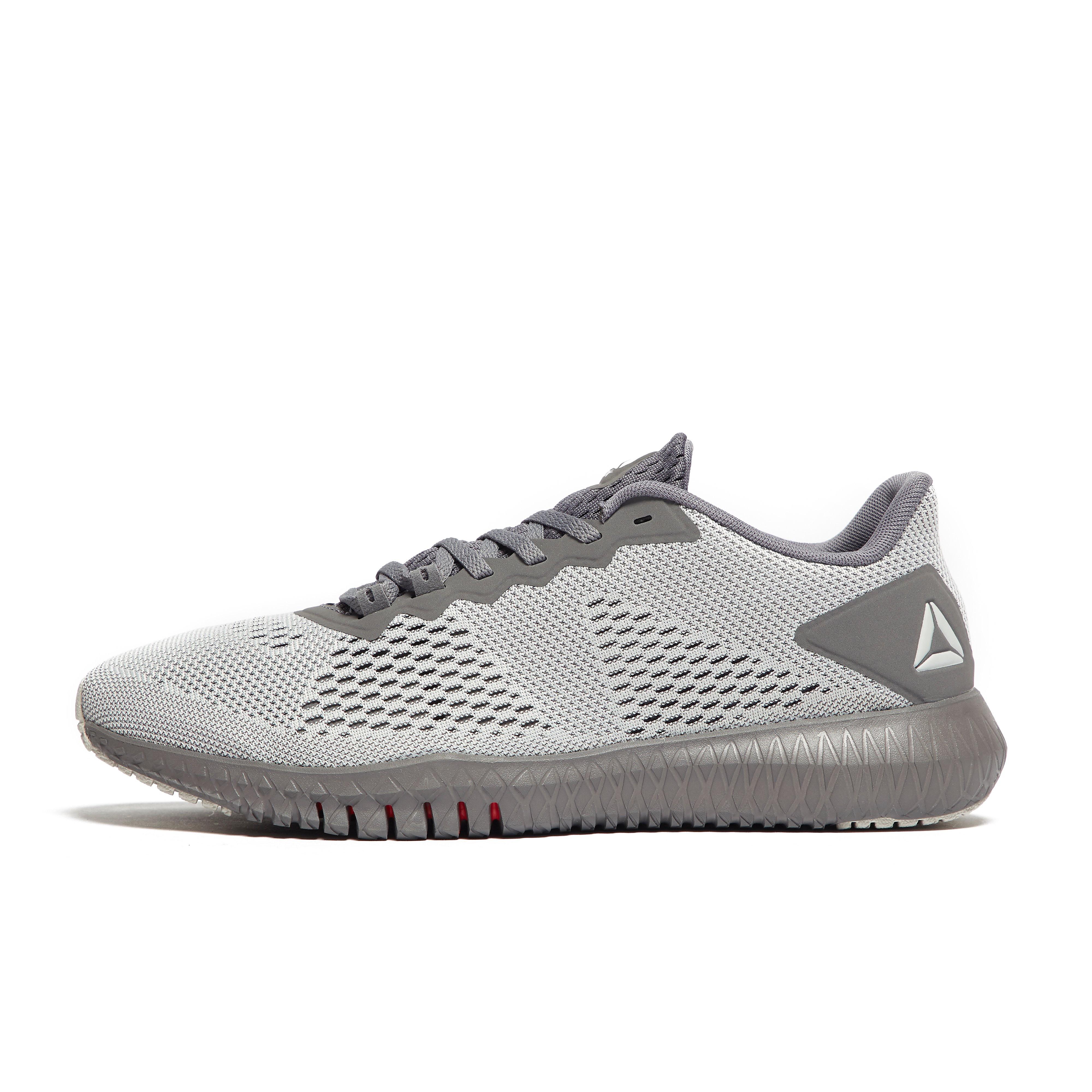 Mens Grey Reebok Flexagon Training Shoes