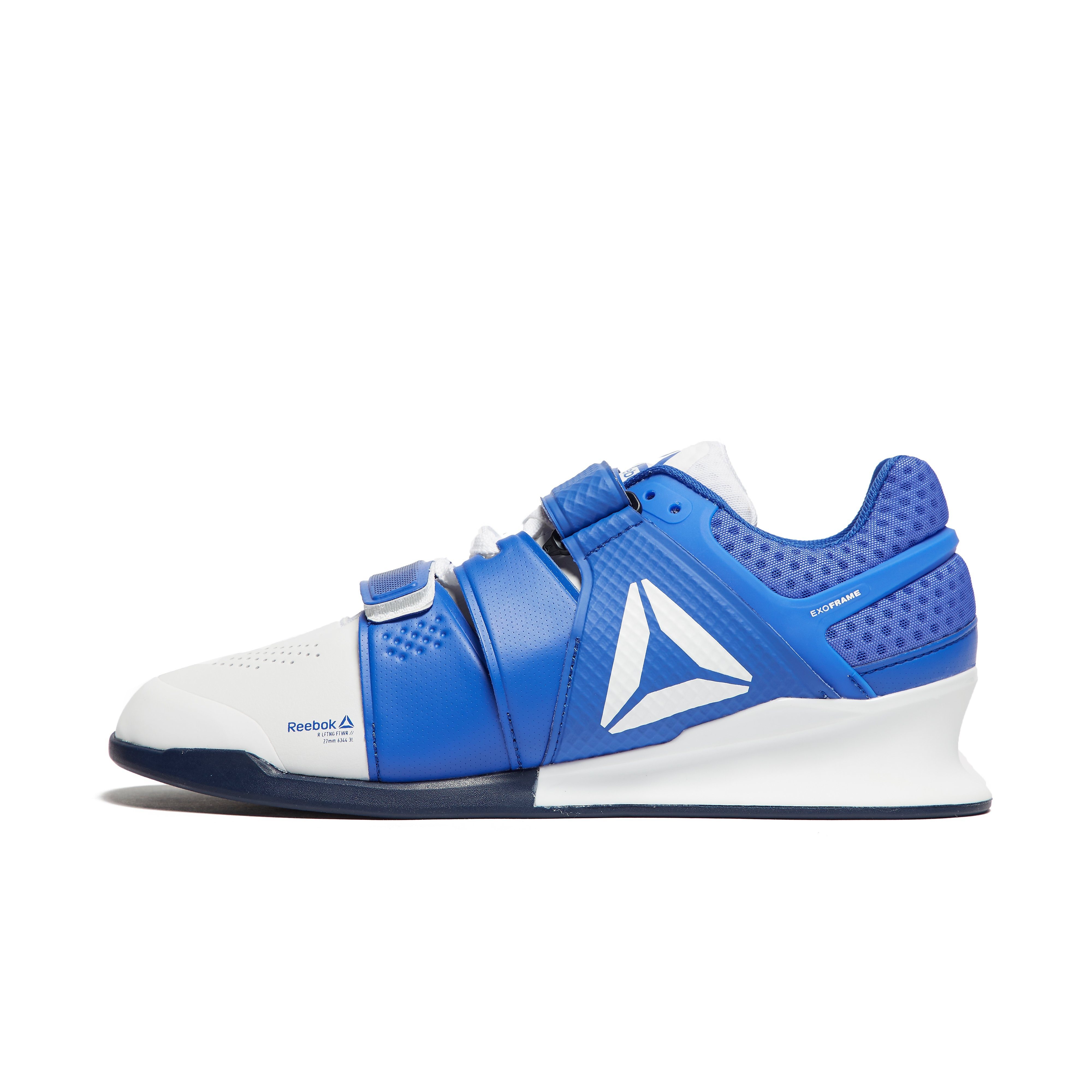 Mens Blue Reebok Legacy Lifter Weightlifting Shoes