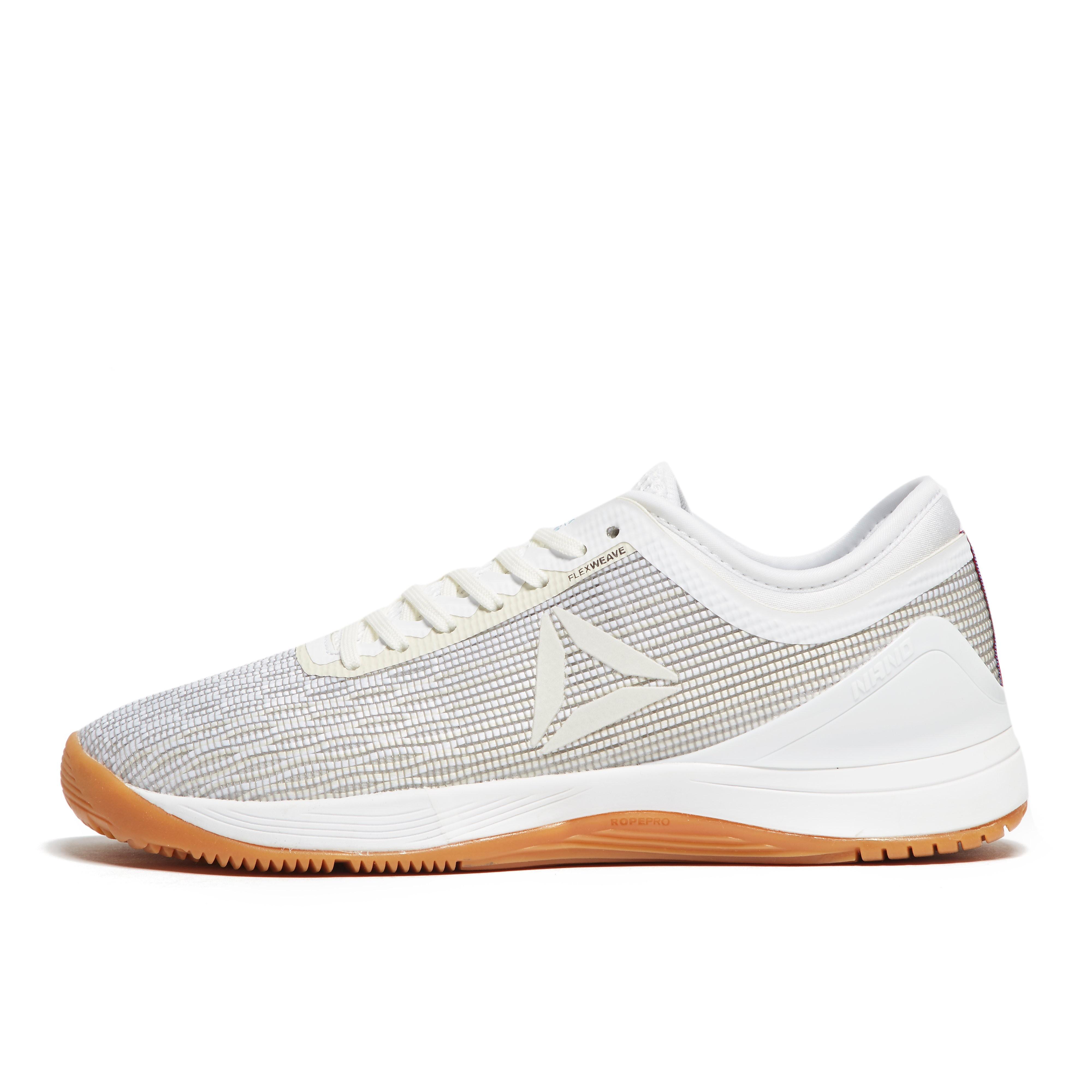 Womens White Reebok Crossfit Nano 8.0 Training Shoes