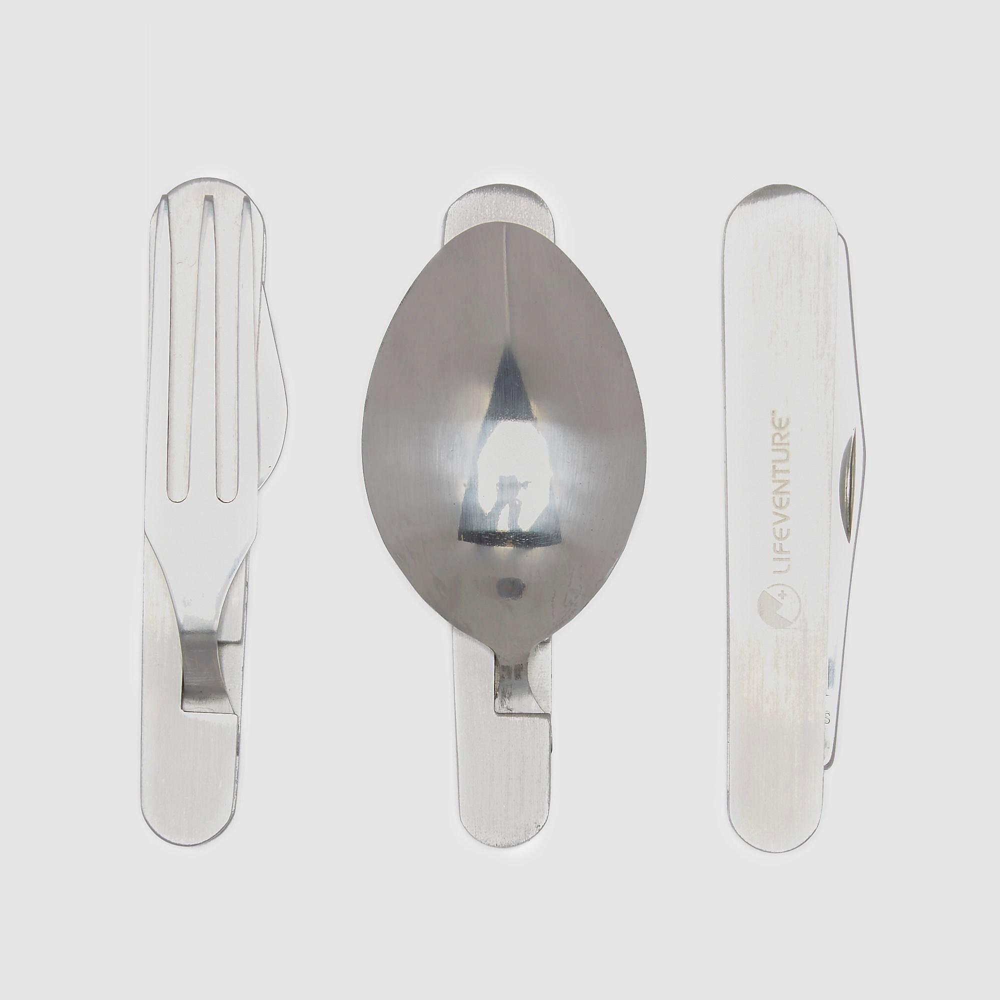 Life Systems Knife, Fork, Spoon - Folding Cutlery Set