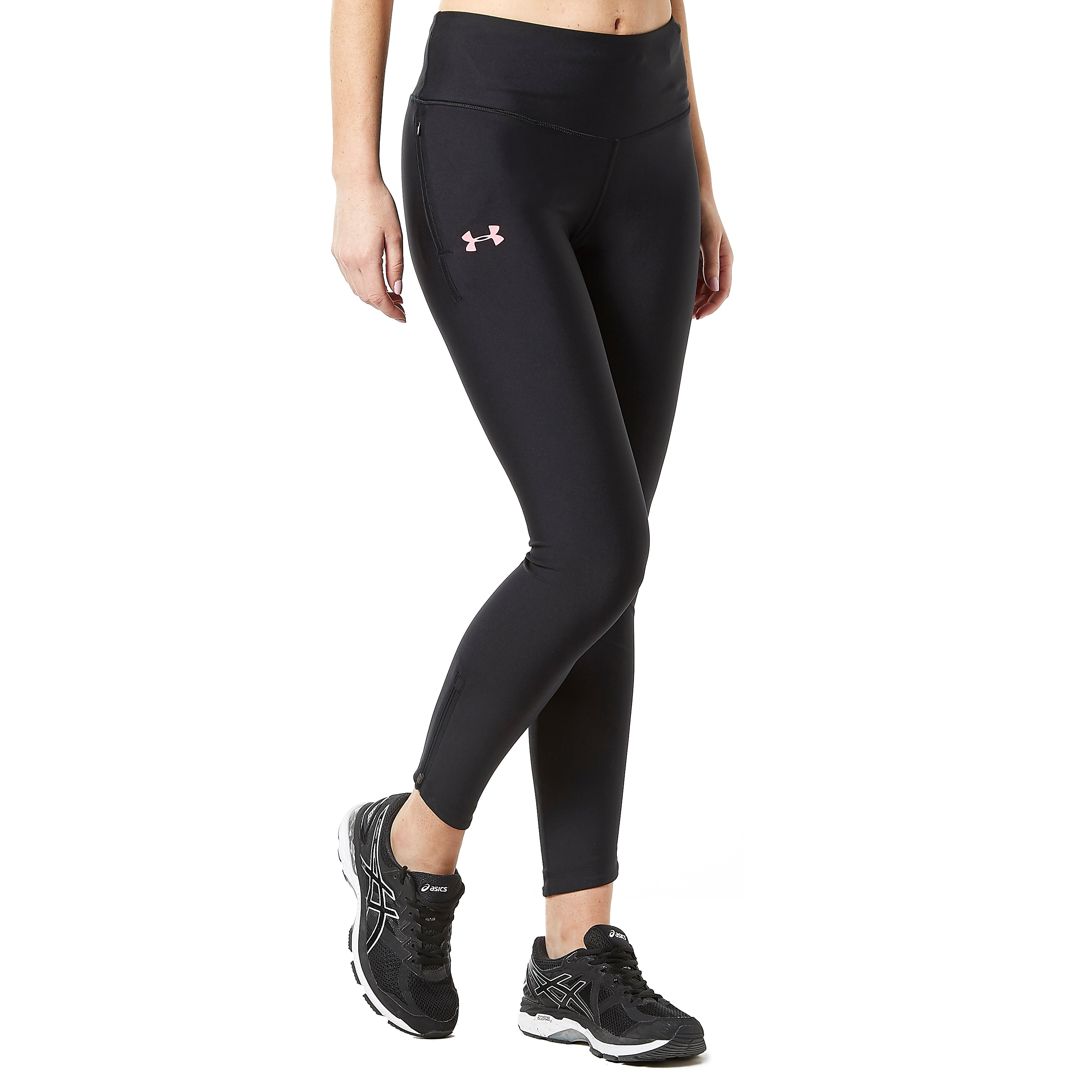 Womens Black Under Armour Fly Fast Running Tights
