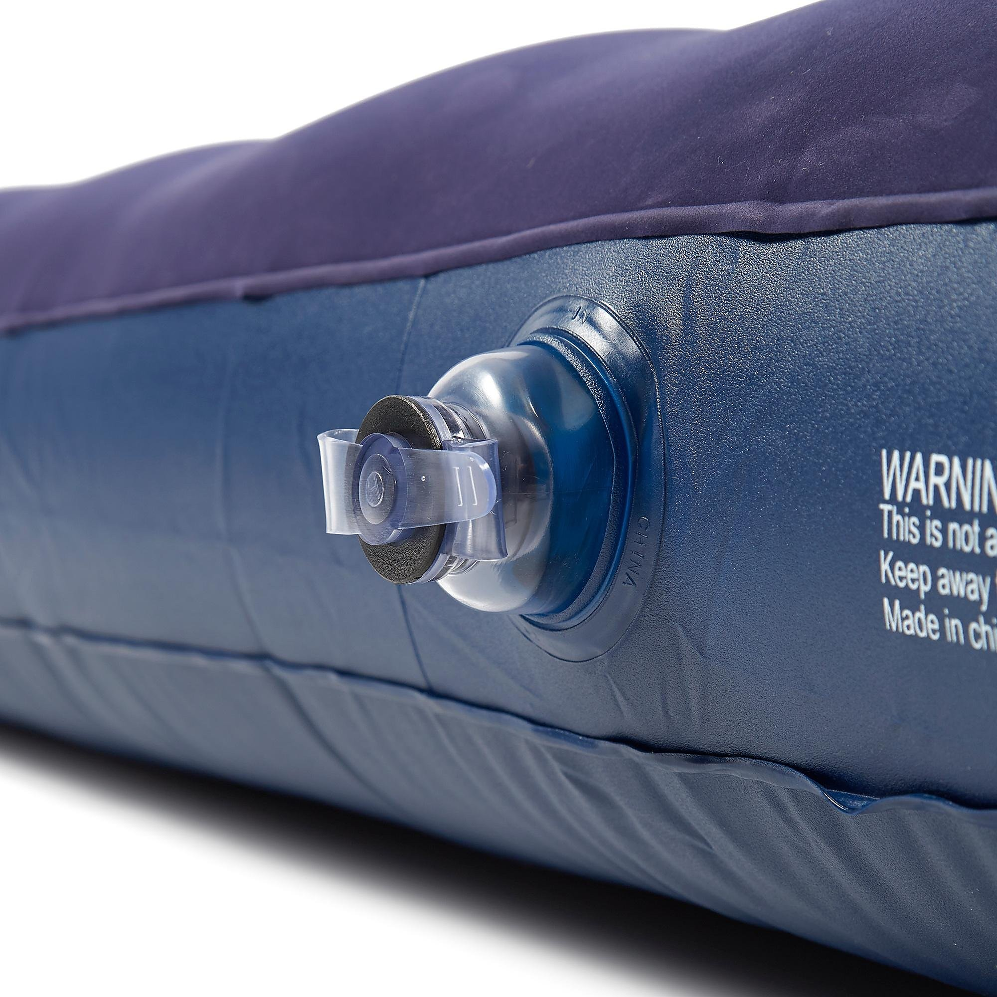 EUROHIKE Flocked Double Airbed