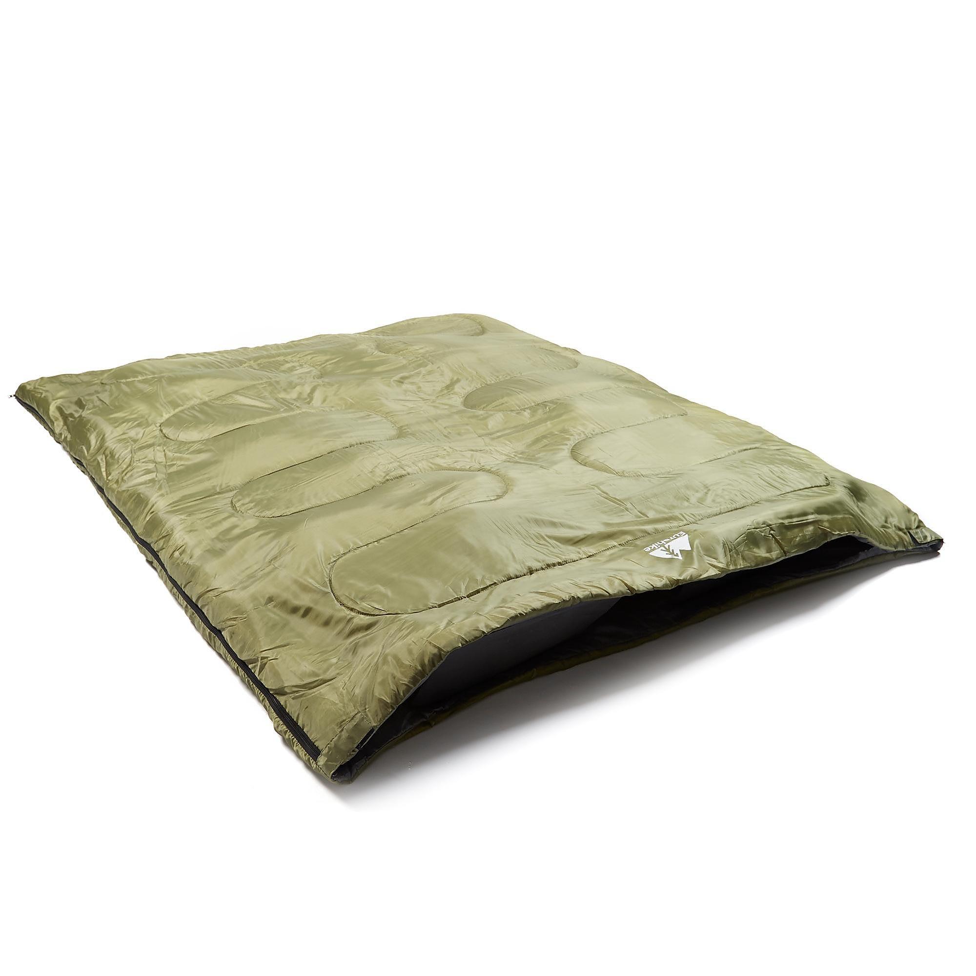 Eurohike Super Snooze Double Sleeping Bag - GRN/GRN, GRN/GRN