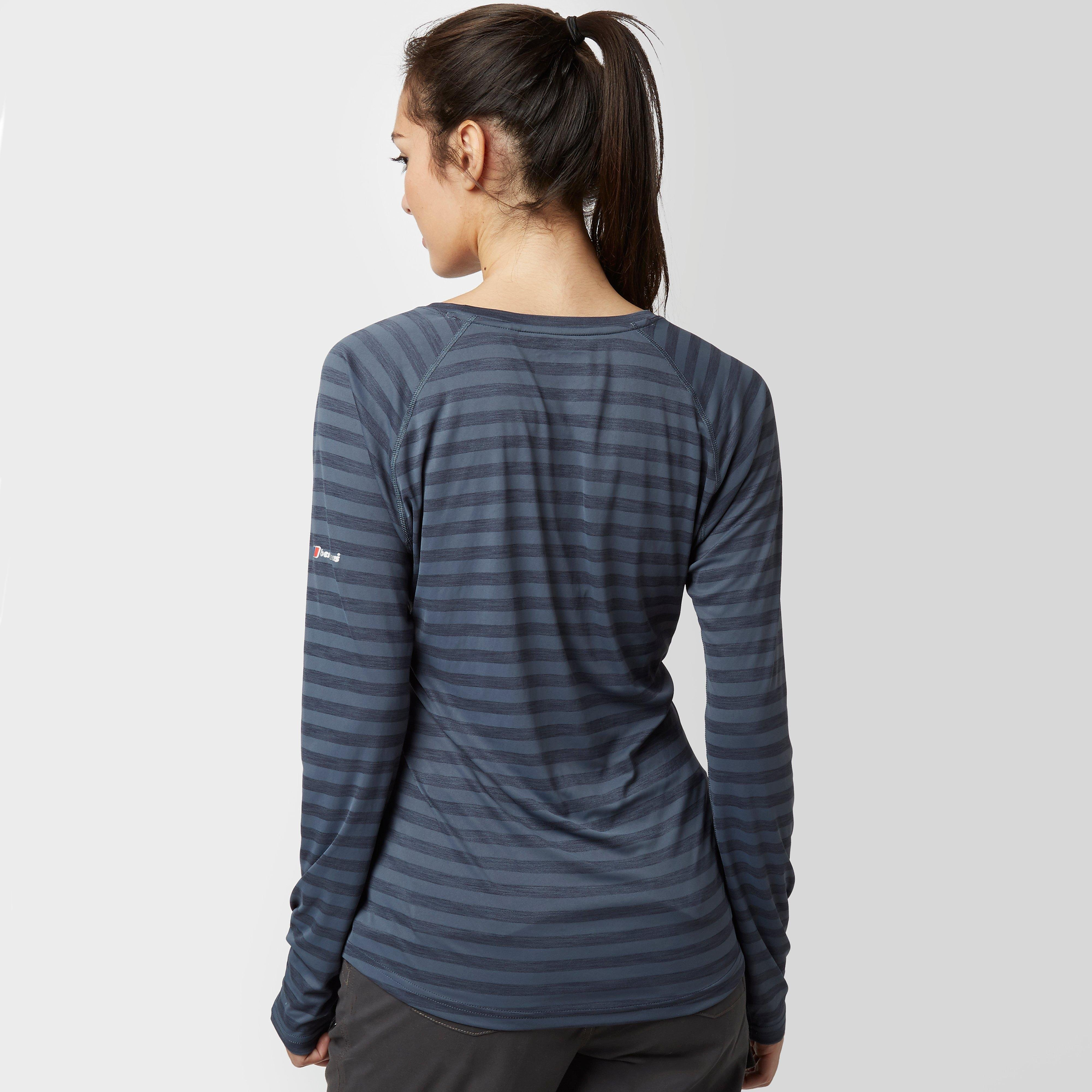 Berghaus Stripe Long Sleeve Crew Women's Baselayer