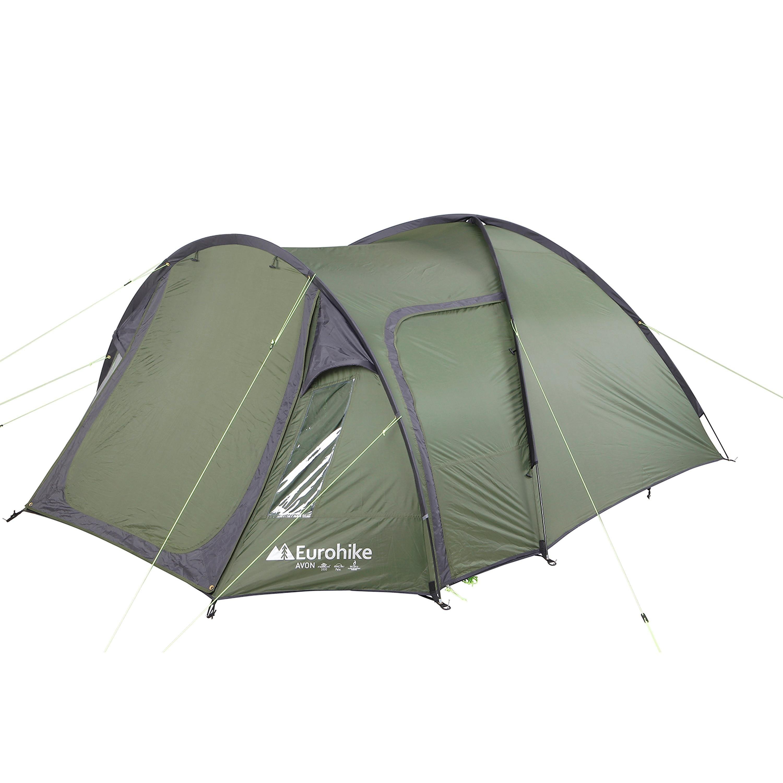 EUROHIKE Avon Deluxe 3 Man Tent.