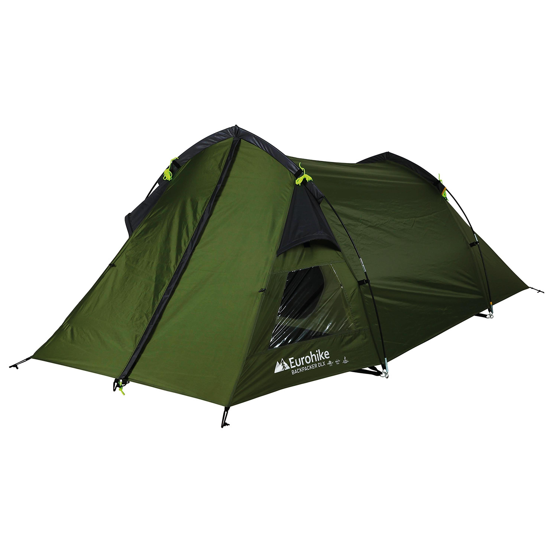 EUROHIKE Backpacker Deluxe 2 Man Tent