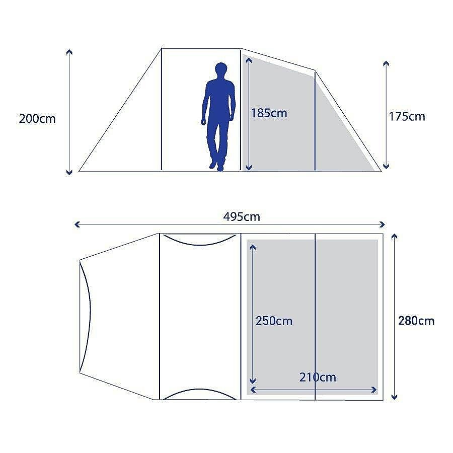 BERGHAUS Air 4 Tent