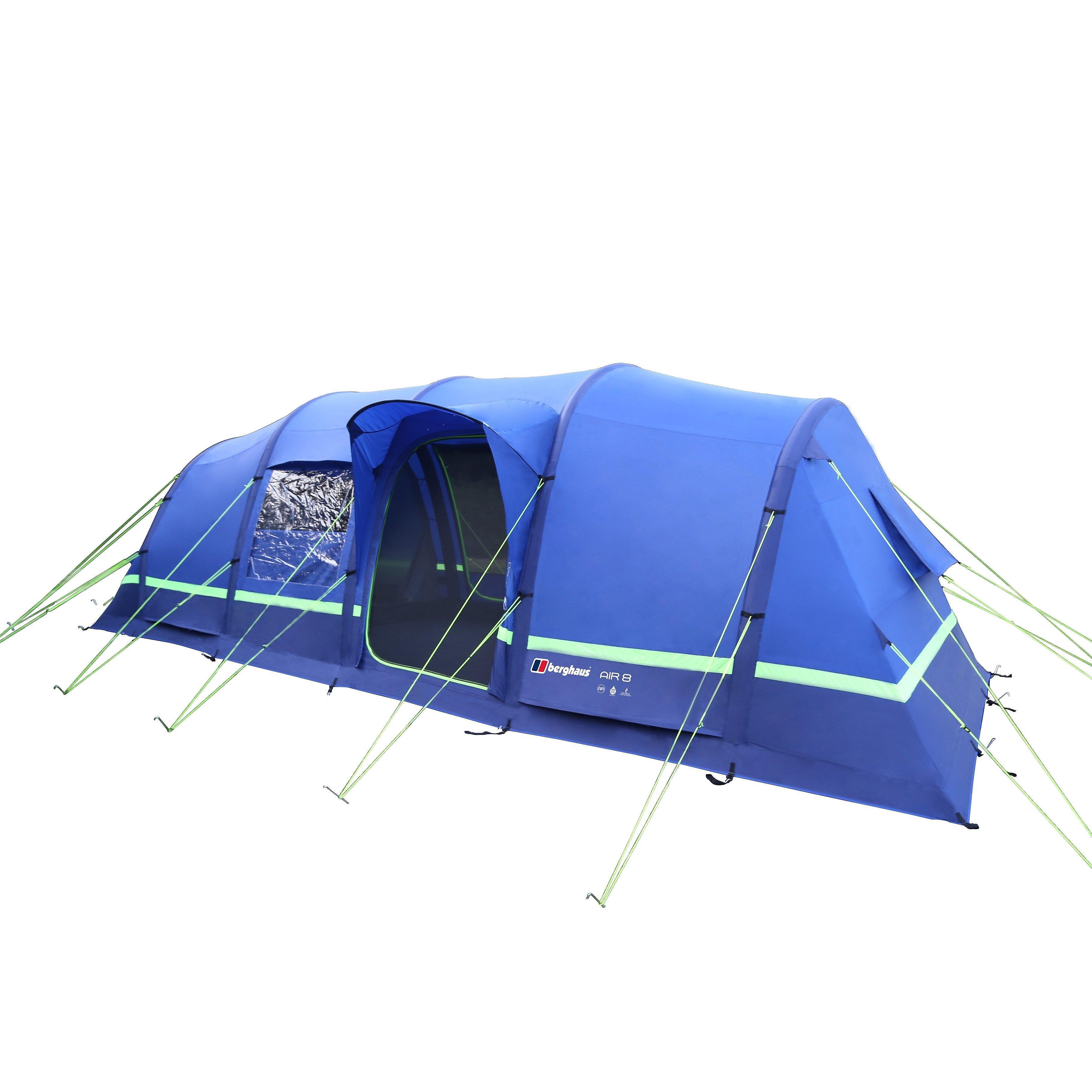 Berghaus Air 8 Tent - Blue, Blue