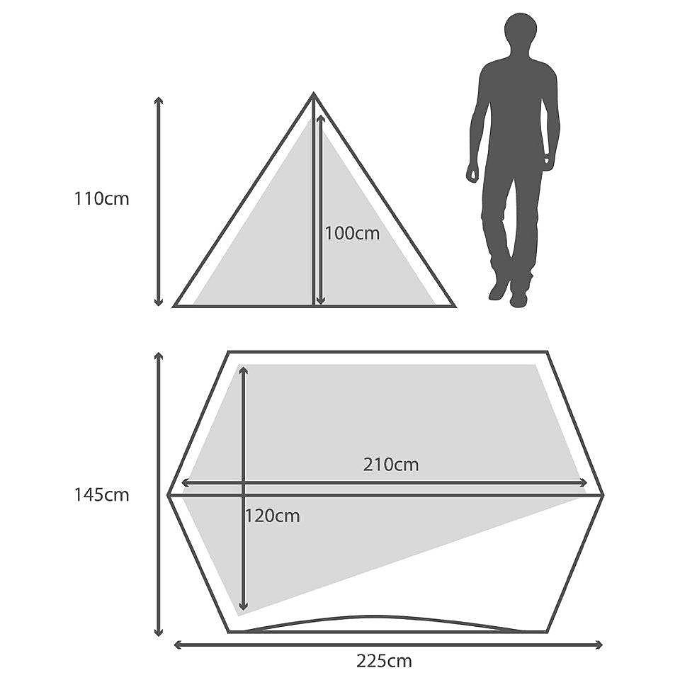 BERGHAUS Peak 3.1 Tent