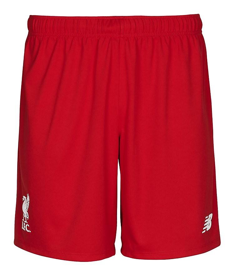 New Balance LIVERPOOL 2015/16 Junior Home Shorts