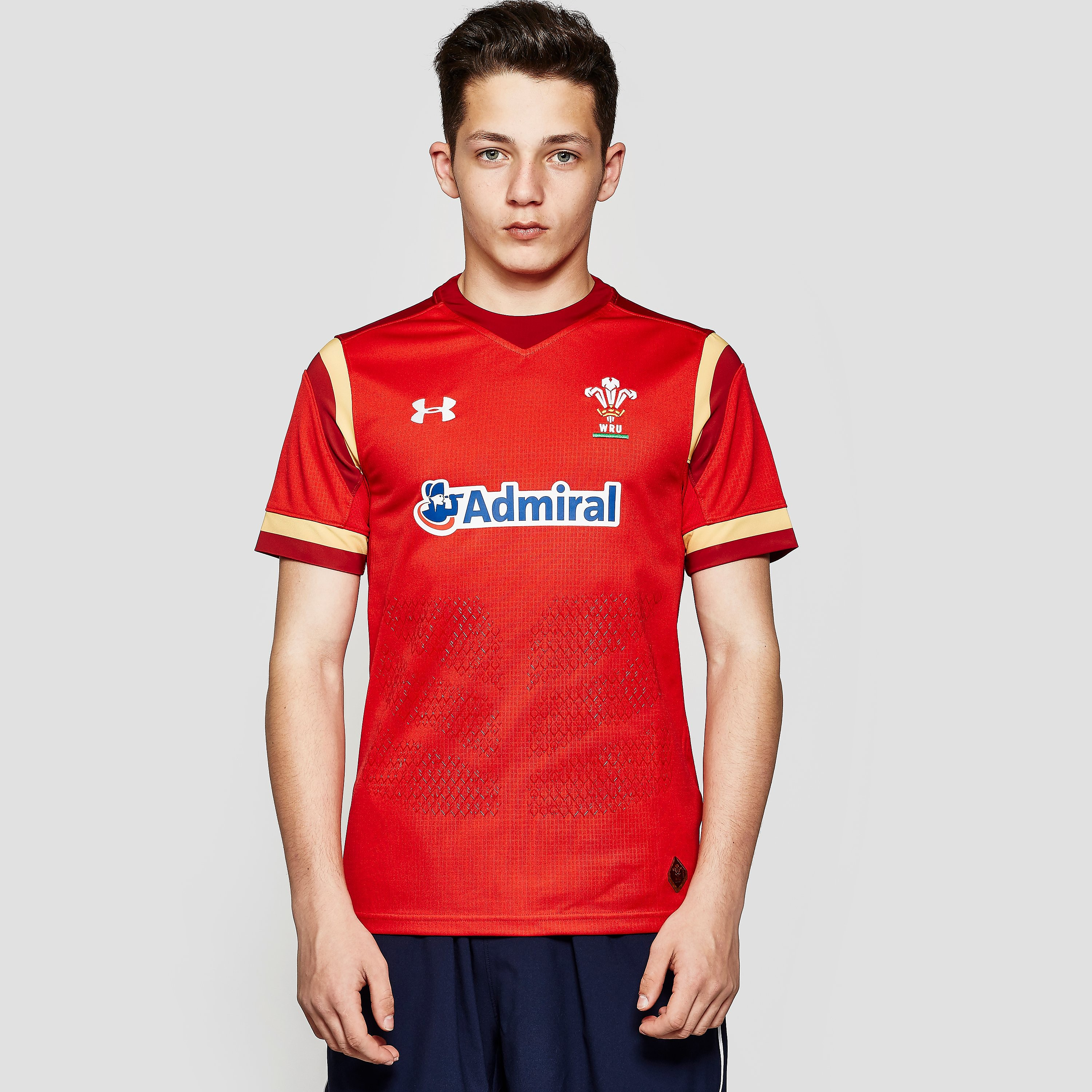 Under Armour WALES Home 2015/16 Supporters Junior Rugby Jersey