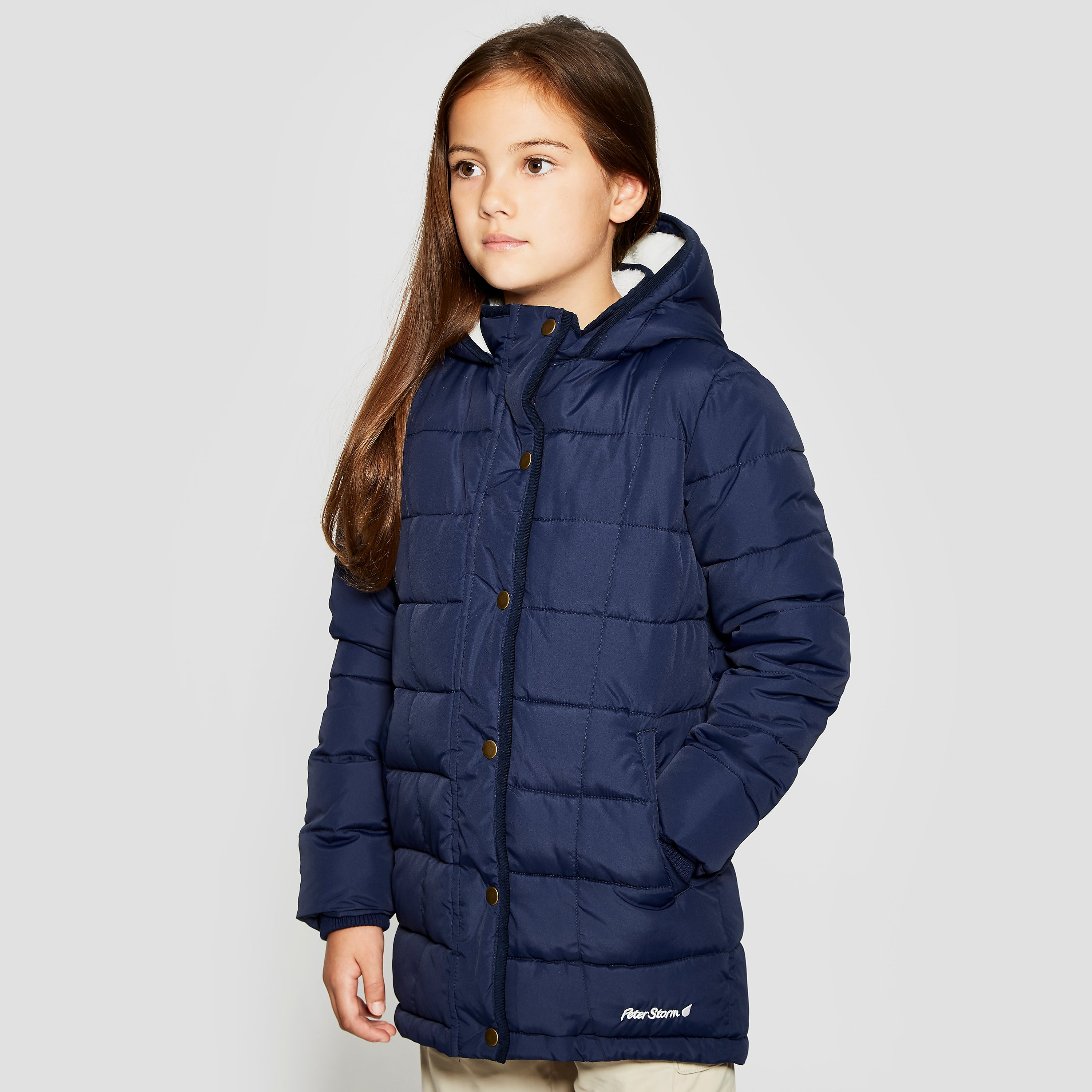 Peter Storm Girls' Katie Long Insulated Jacket