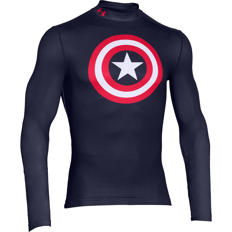 Under Armour Captain America Evo Compression Men's Mock
