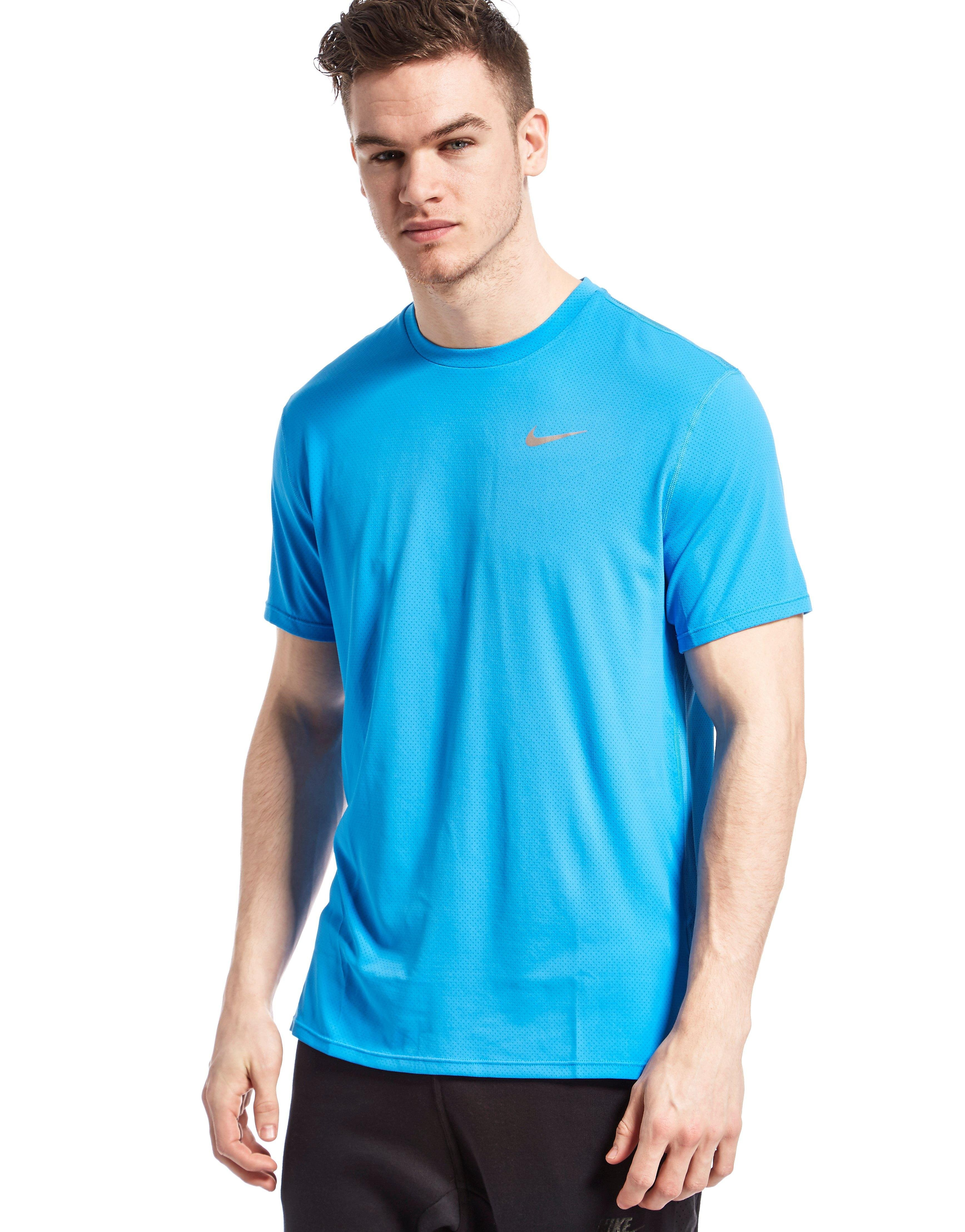 Nike  Men's Dry Contour Short-Sleeve Running Top
