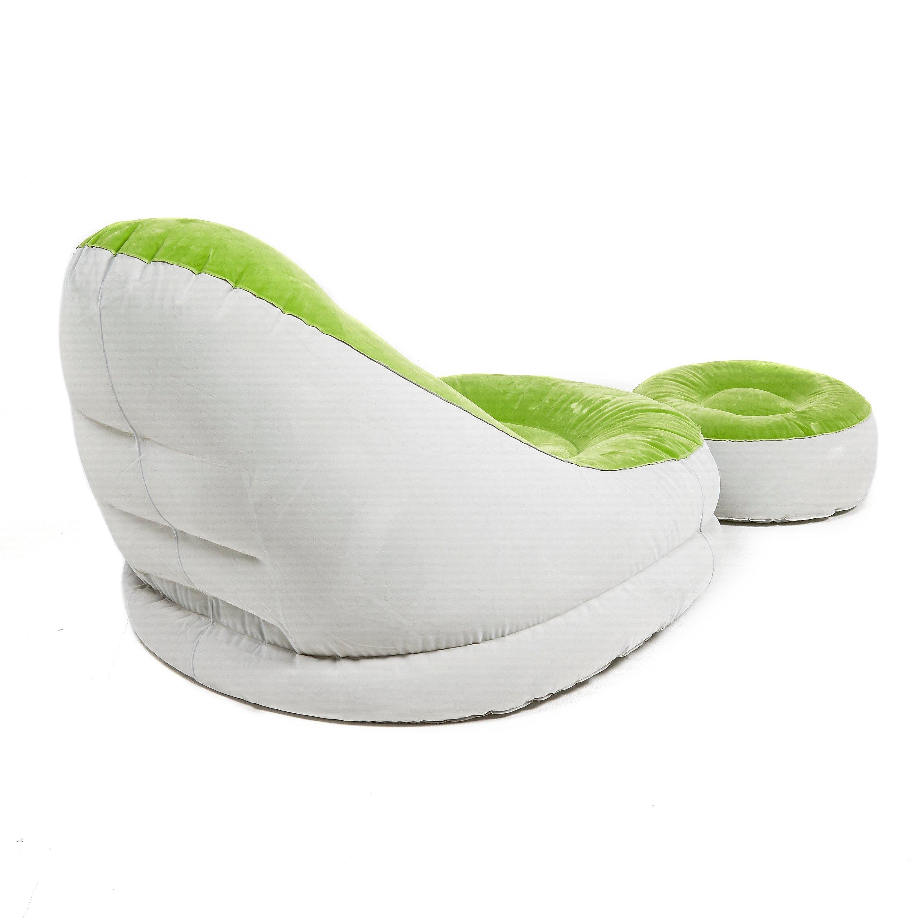 EUROHIKE  Inflatable Chair With Footstool