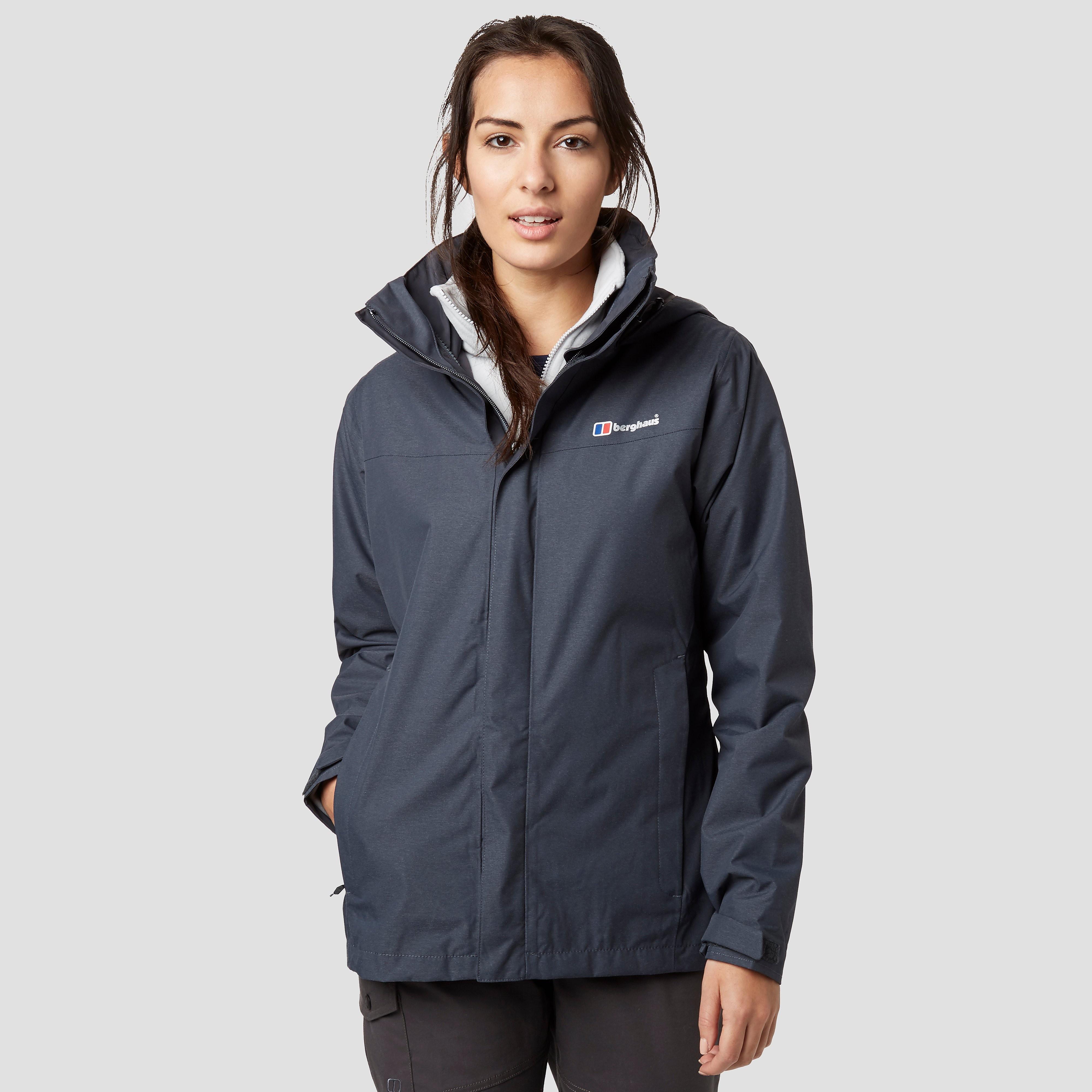 BERGHAUS Woemn's Howtown 3 in 1 Waterproof Jacket