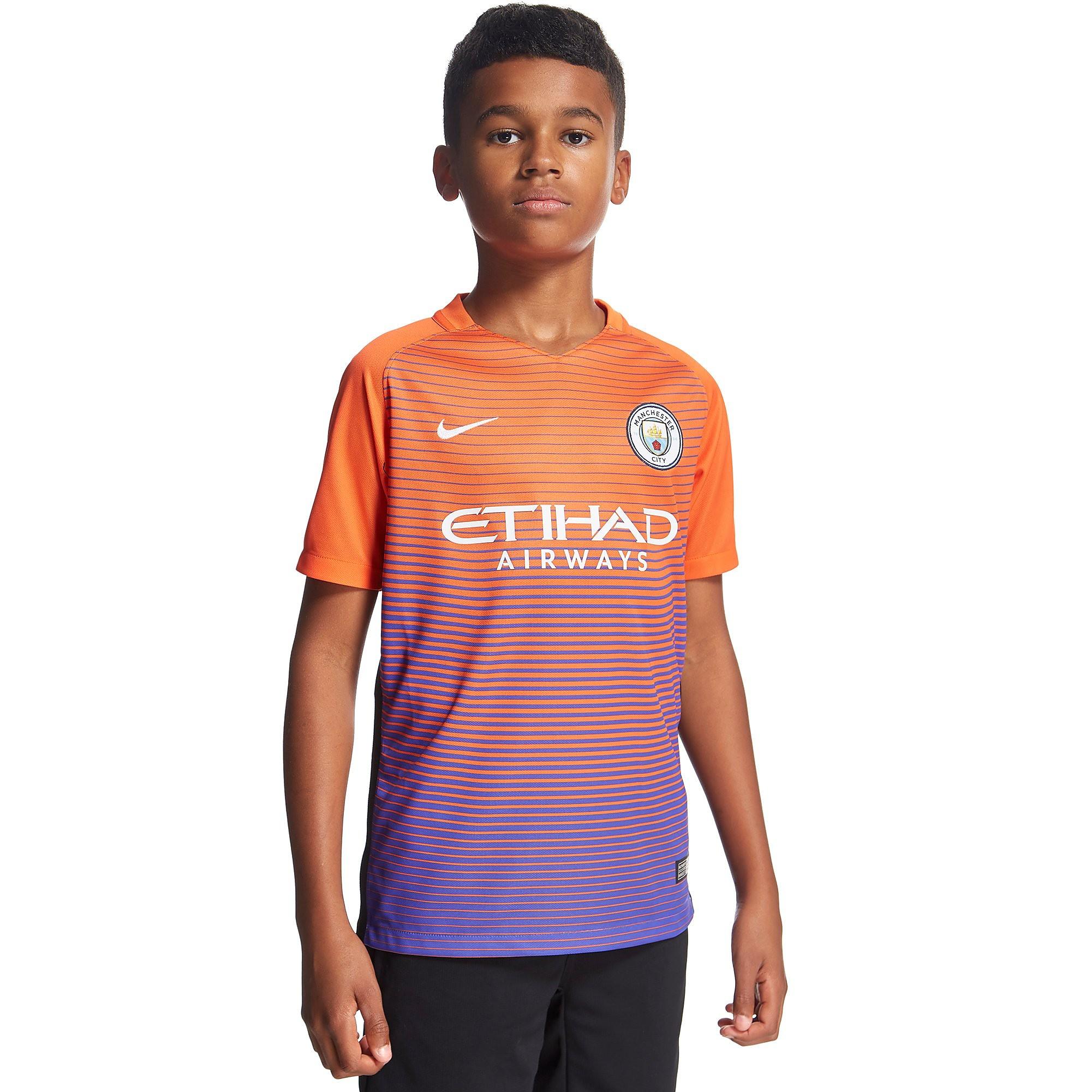 Nike Manchester City FC 2016/17 Third Junior Shirt