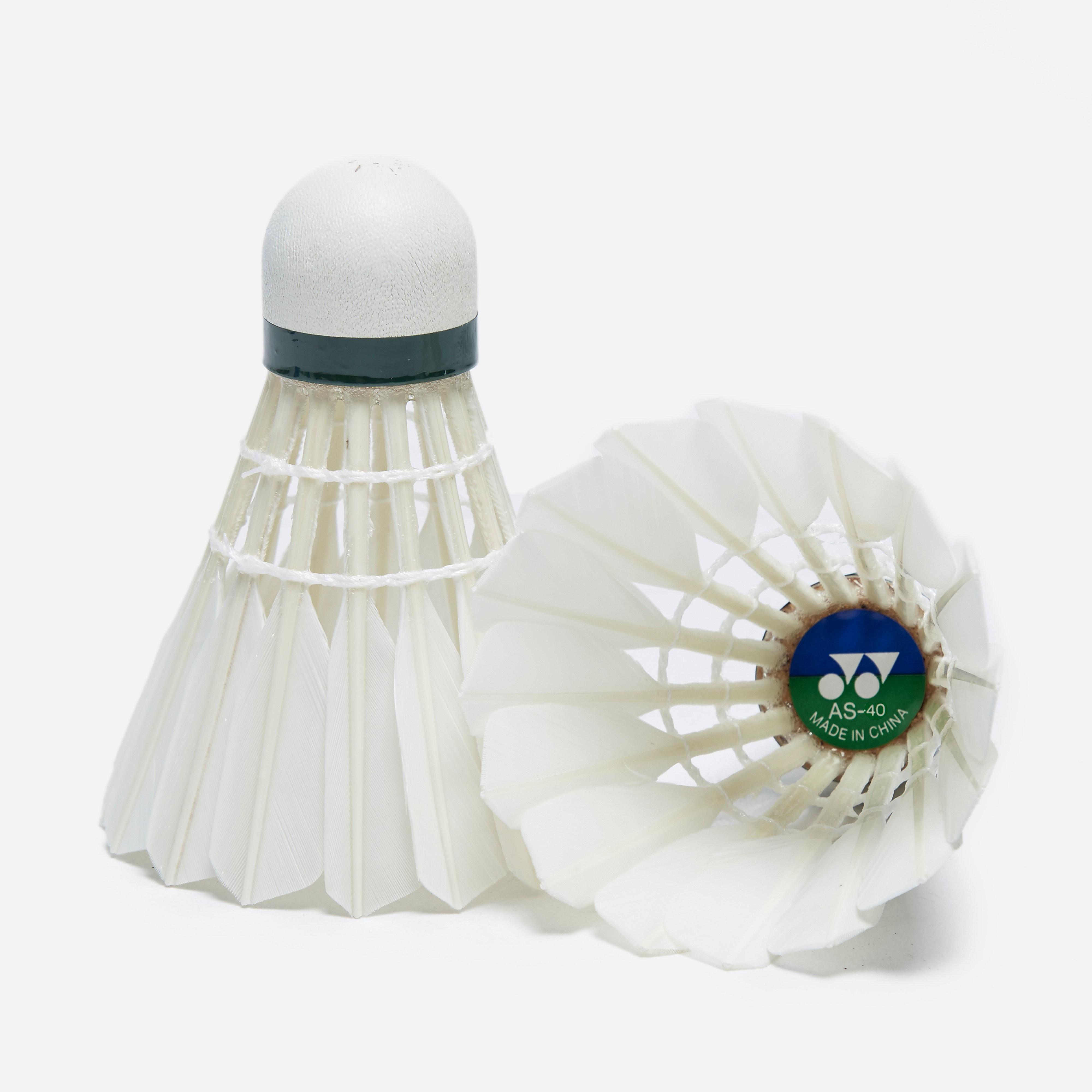 Yonex AeroSensa-40 Goose Feather Badminton Shuttlecocks